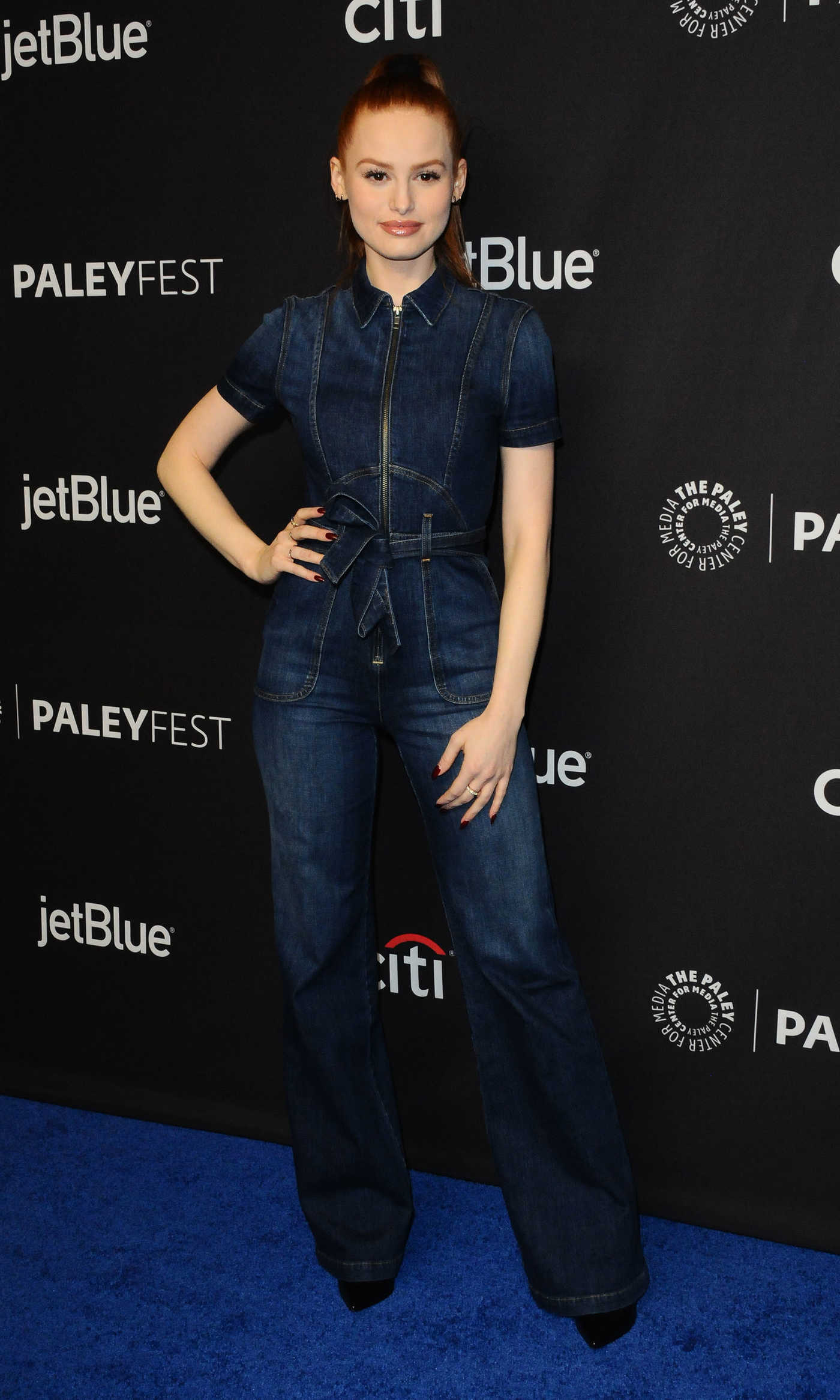 Madelaine Petsch at the Riverdale TV Show Presentation During the Paleyfest in Los Angeles 03/25/2018