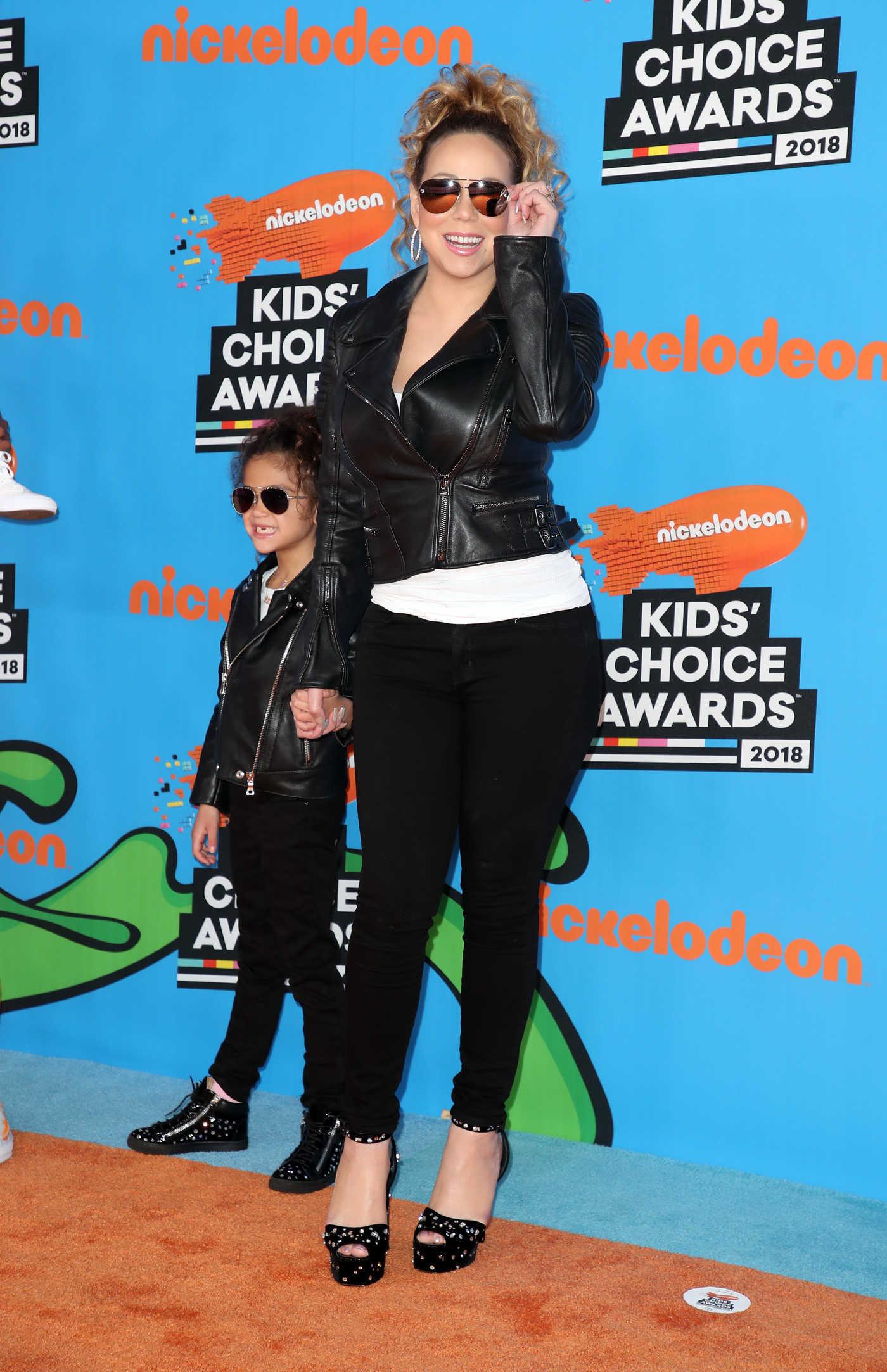 Mariah Carey at 2018 Nickelodeon Kids' Choice Awards in Los Angeles 03/24/2018