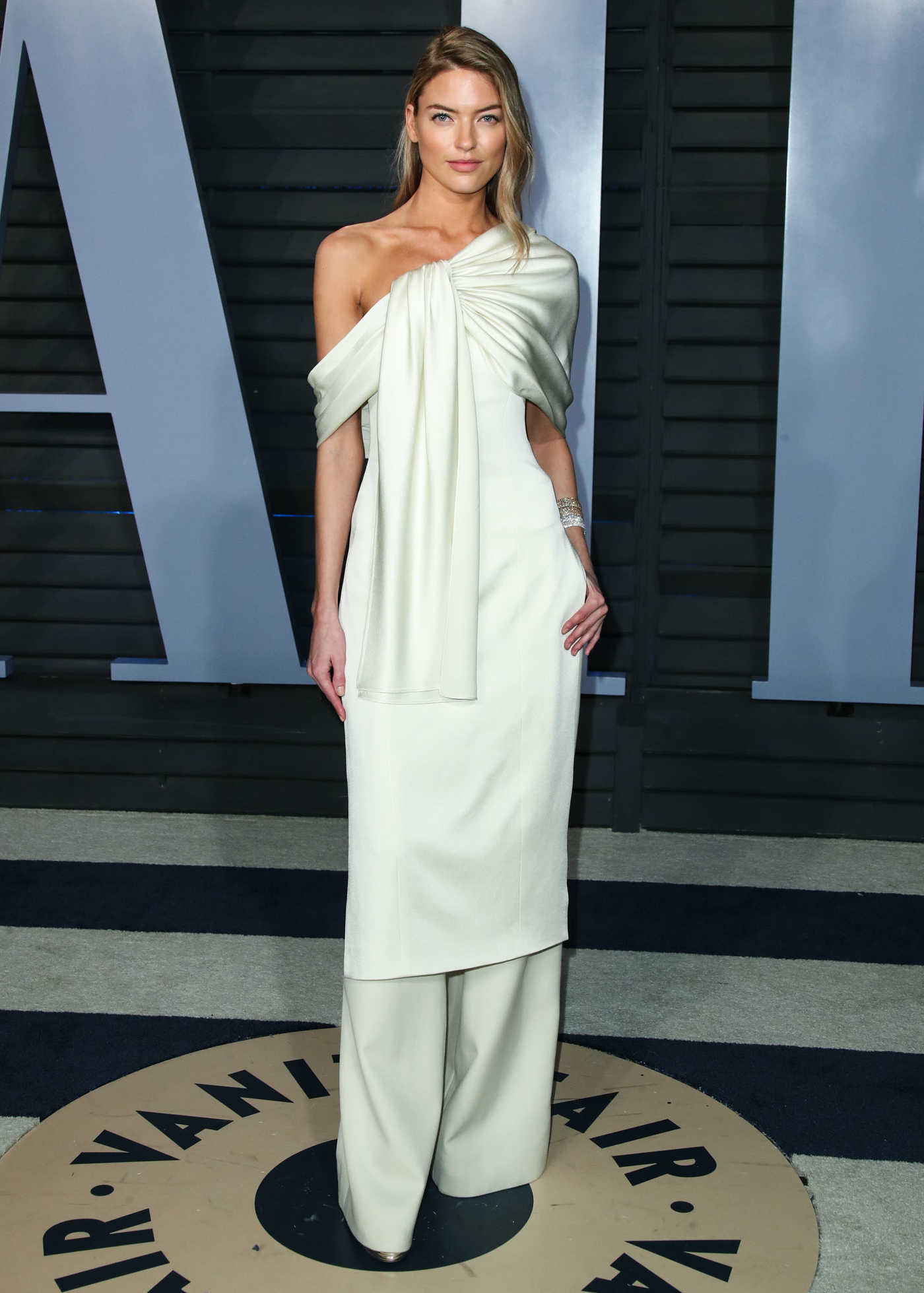 Martha Hunt at 2018 Vanity Fair Oscar Party in Beverly Hills 03/04/2018
