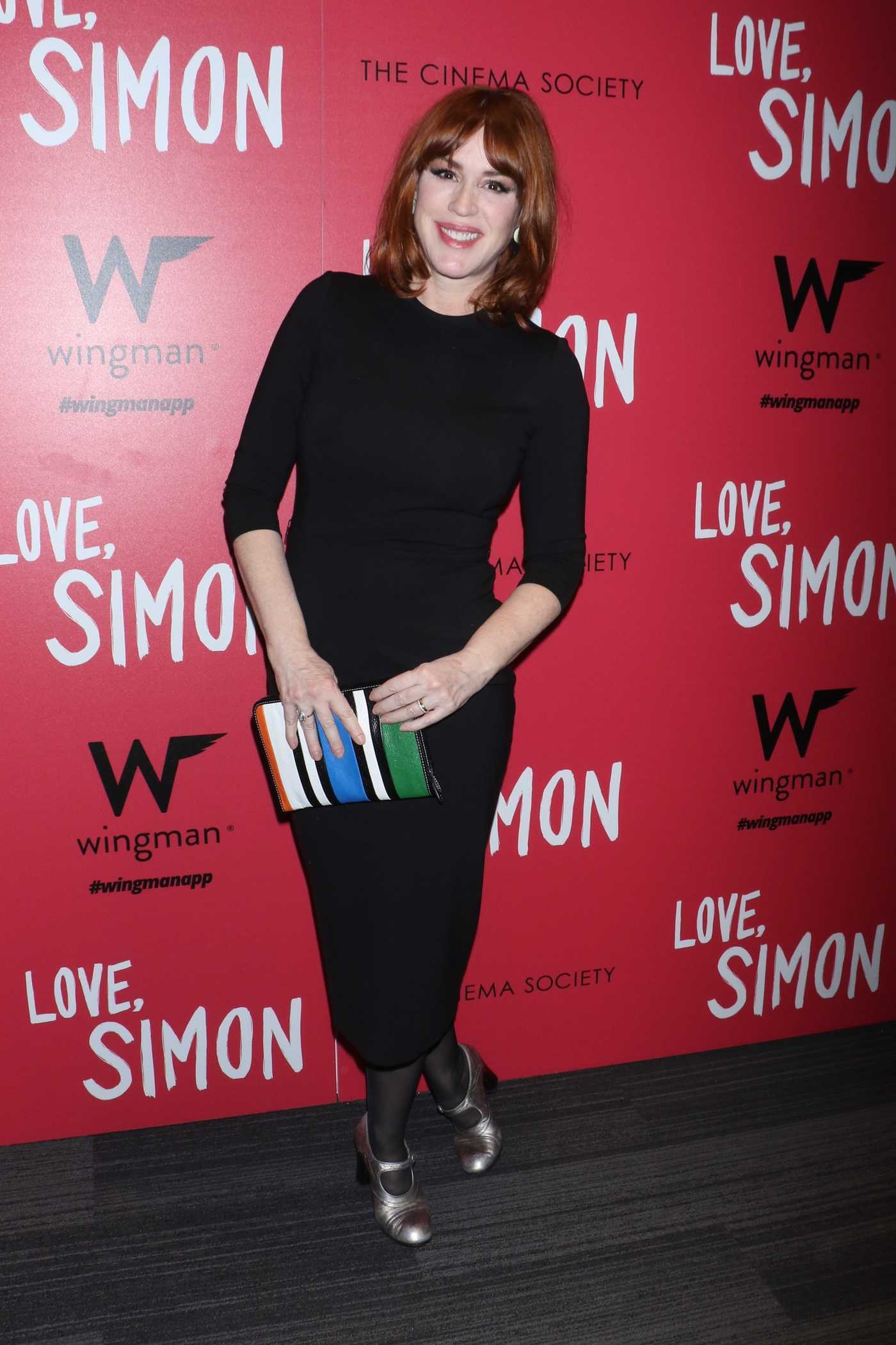 Molly Ringwald at the Love, Simon Premiere in New York 03/08/2018