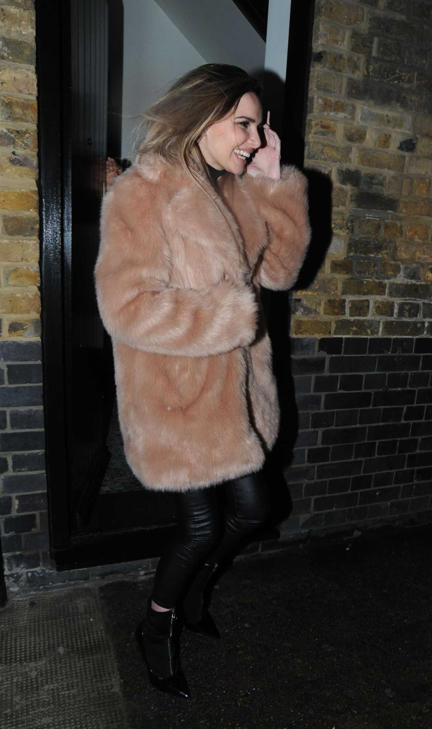 Nadine Coyle Leaves the Chiltern FireHouse in London 03/24/2018