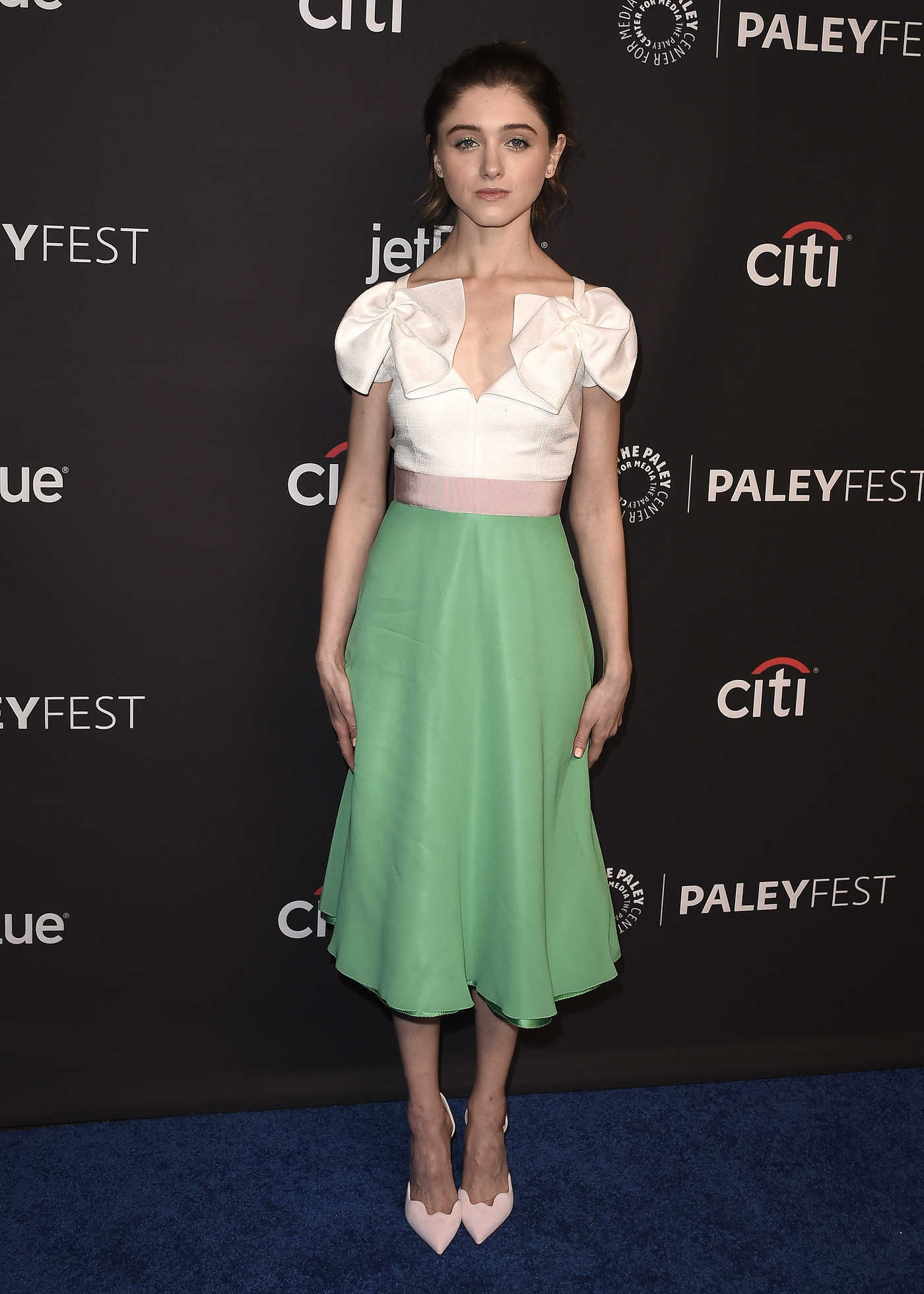 Natalia Dyer at the Stranger Things TV Show Presentation During the Paleyfest in Los Angeles 03/25/2018