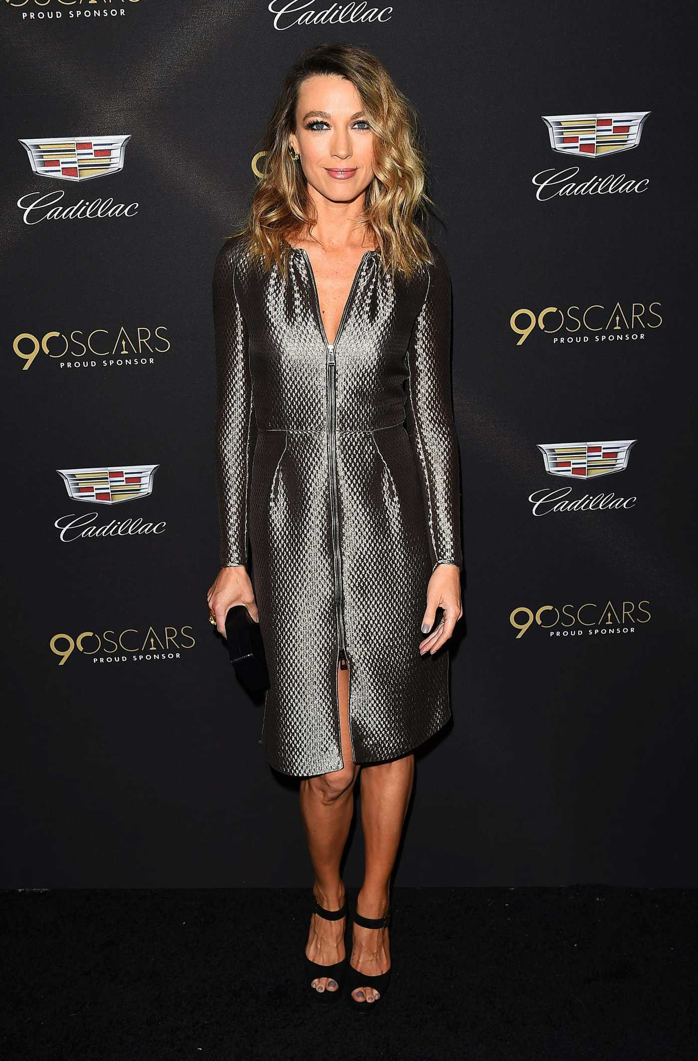 Natalie Zea at the Cadillac Oscar Celebration in Los Angeles 03/01/2018