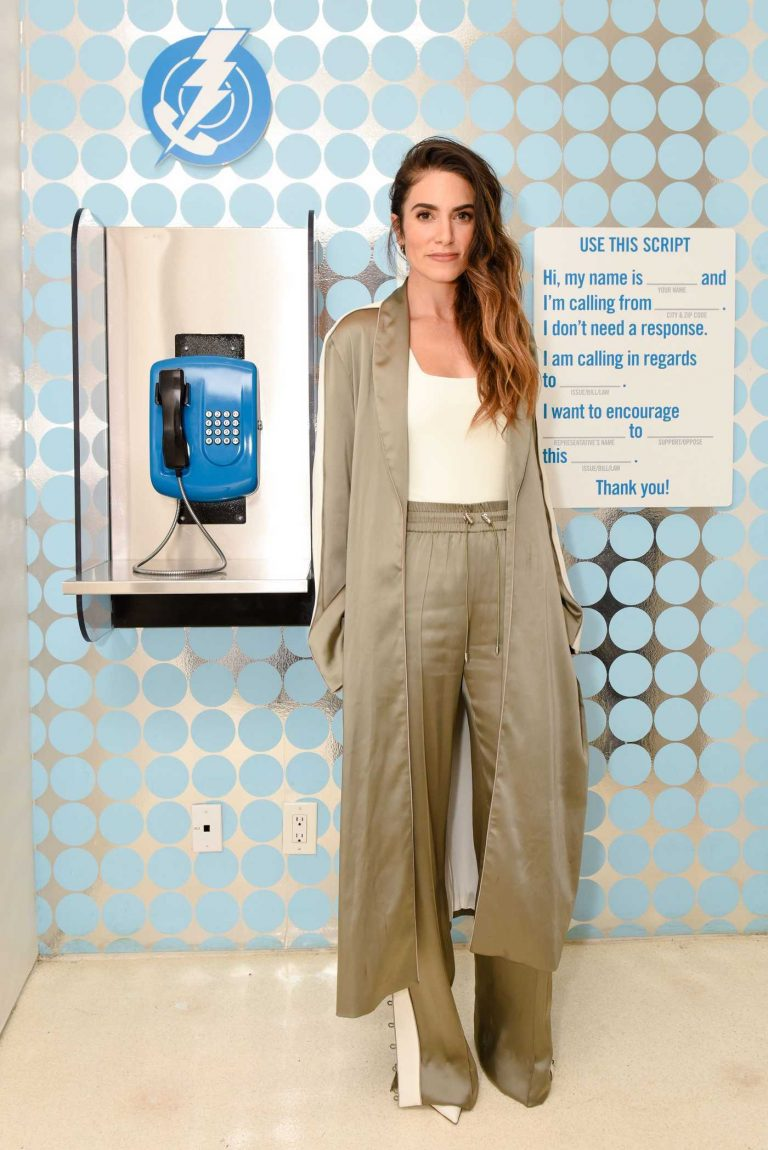 Nikki Reed at the Ring Your Rep Dinner at The Standard in Los Angeles 03/08/2018-1
