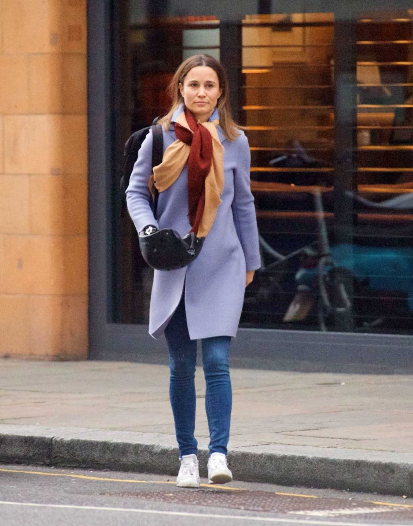 Pippa Middleton Was Seen Out in London 03/25/2018