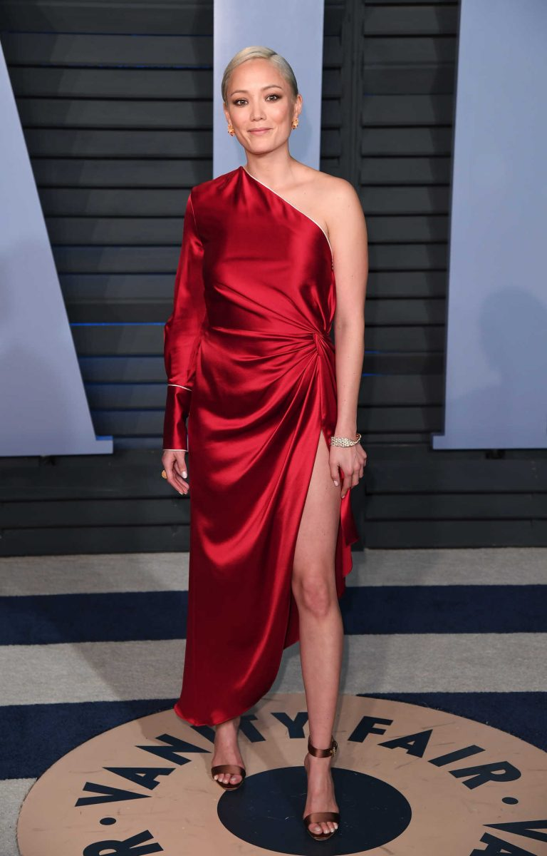 Pom Klementieff at 2018 Vanity Fair Oscar Party in Beverly Hills 03/04/2018-1