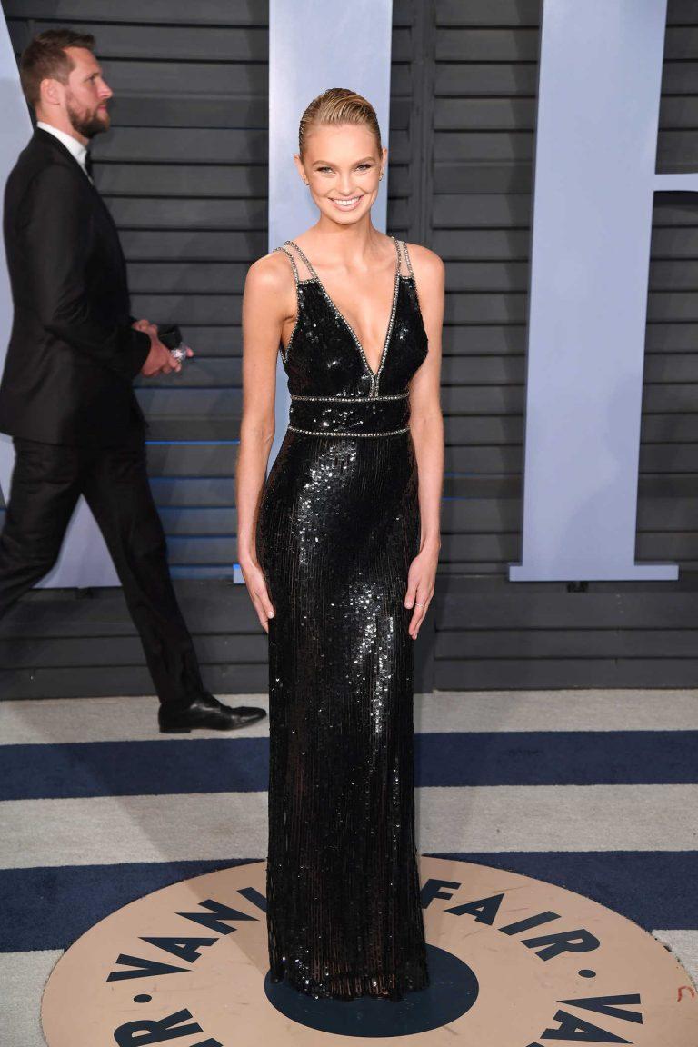 Romee Strijd at 2018 Vanity Fair Oscar Party in Beverly Hills 03/04/2018-1