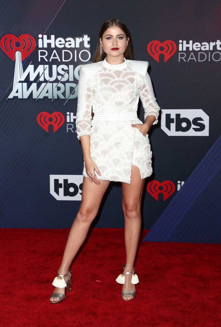 Sofia Reyes at 2018 iHeartRadio Music Awards in Inglewood 03/11/2018-1