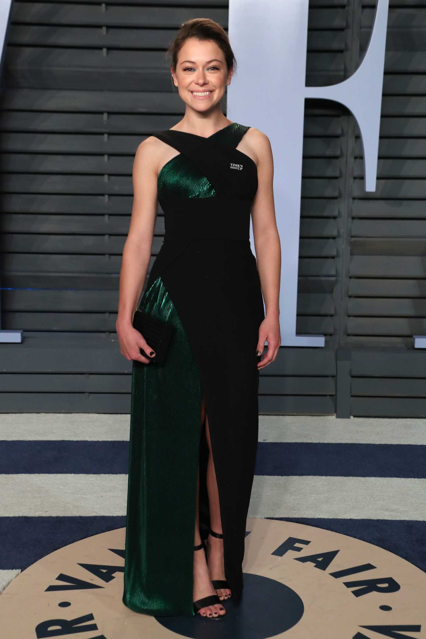 Tatiana Maslany at 2018 Vanity Fair Oscar Party in Beverly Hills 03/04/2018