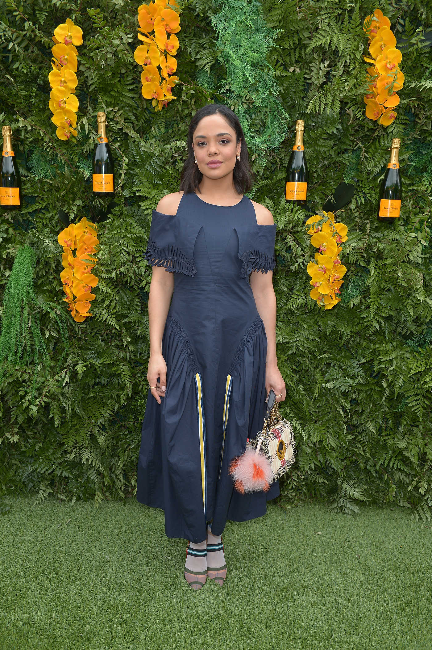 Tessa Thompson at the 4th Annual Veuve Clicquot Carnaval in Miami 03/10/2018