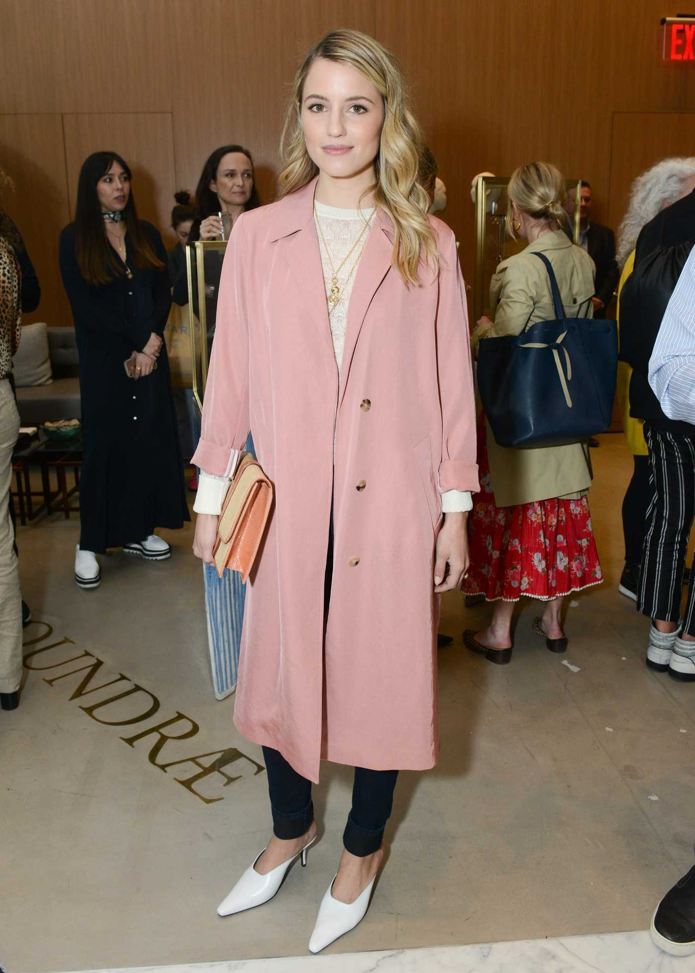 Dianna Agron at the Foundrae Store Opening in New York 04/12/2018