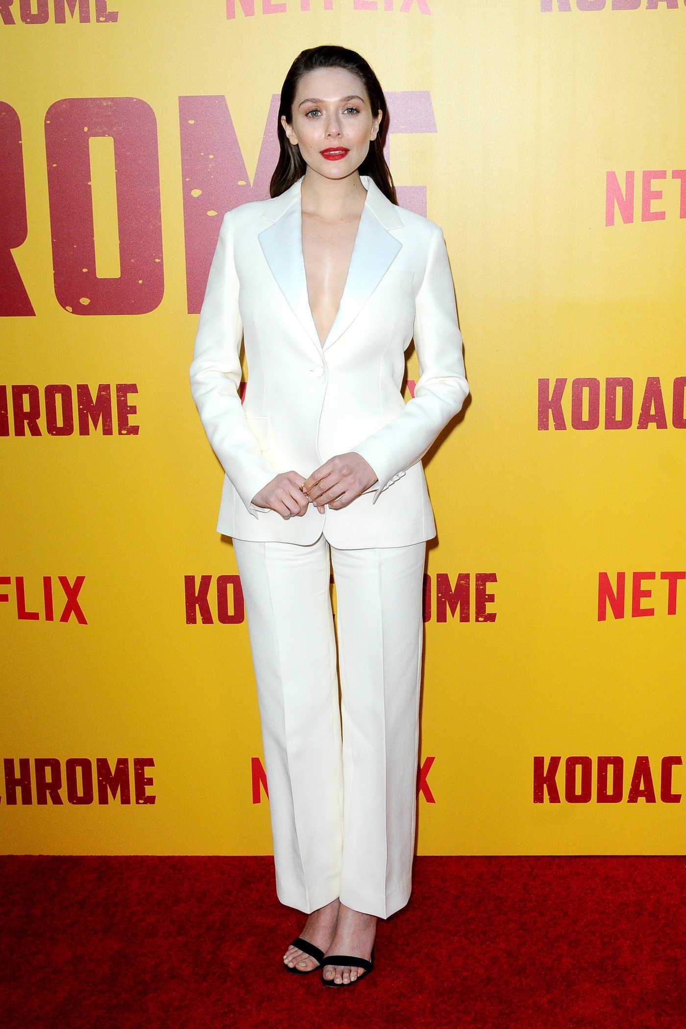 Elizabeth Olsen at the Kodachrome Premiere in Los Angeles 04/18/2018