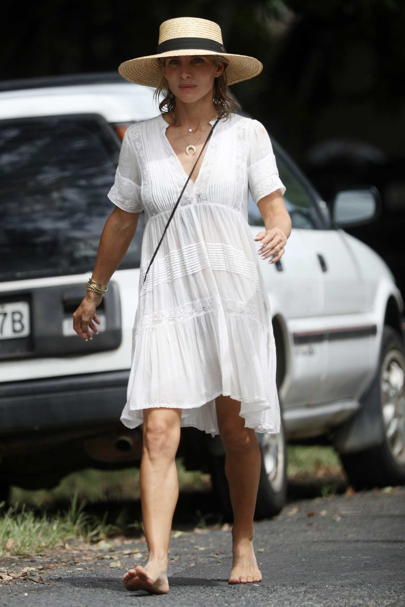 Elsa Pataky Was Spotted Out in Byron Bay, Australia 03/29/2018