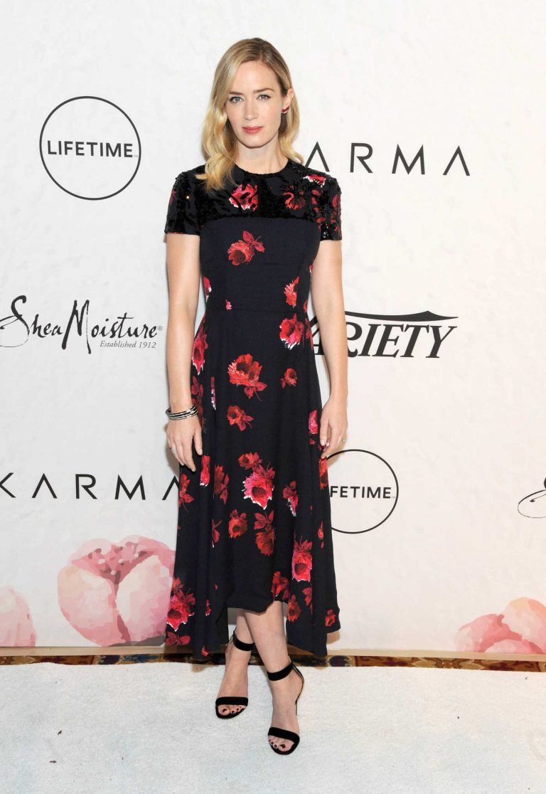Emily Blunt at the Variety's Power of Women Presented by Lifetime in New York 04/13/2018-1