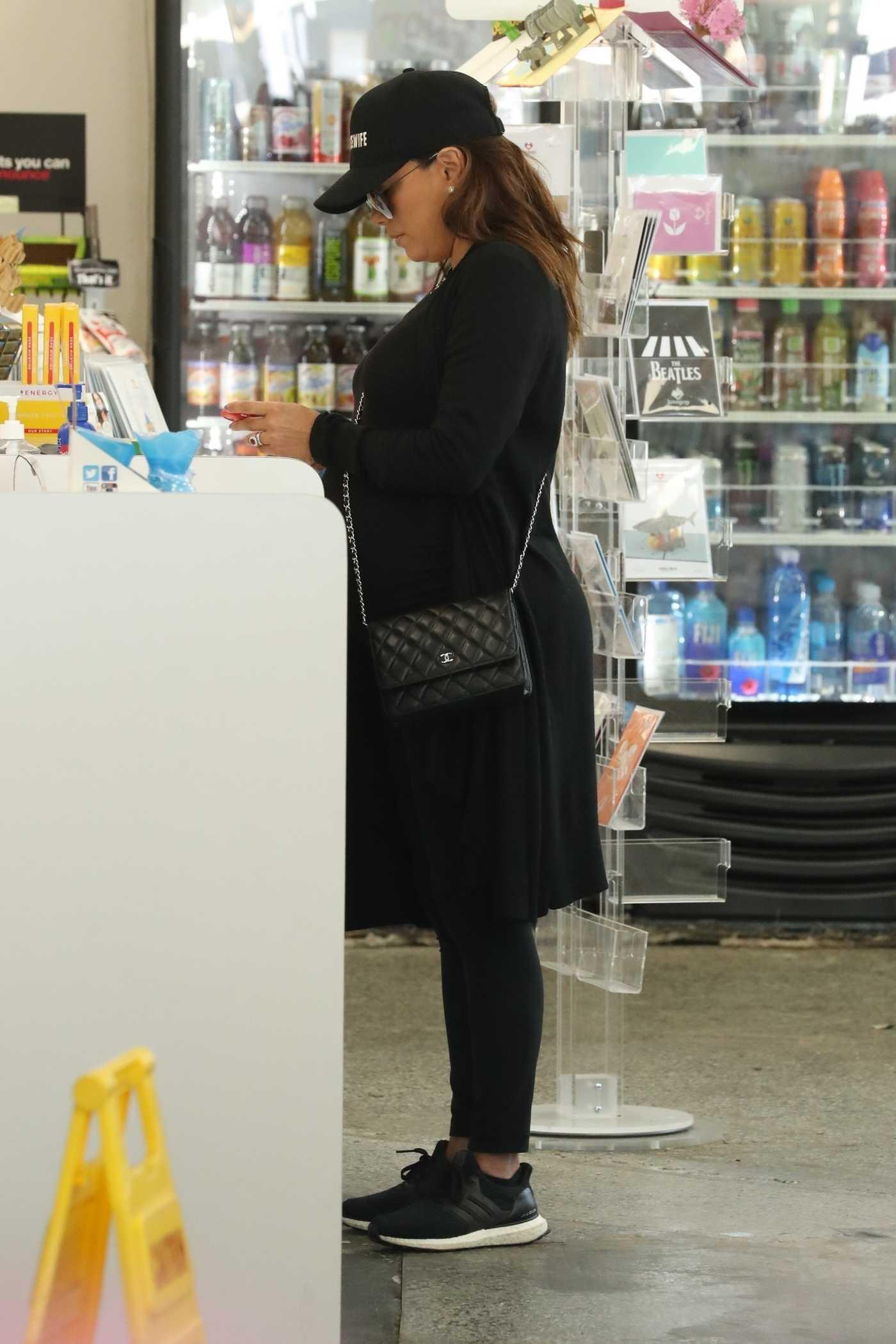 Eva Longoria Goes Shopping in Beverly Hills 04/12/2018