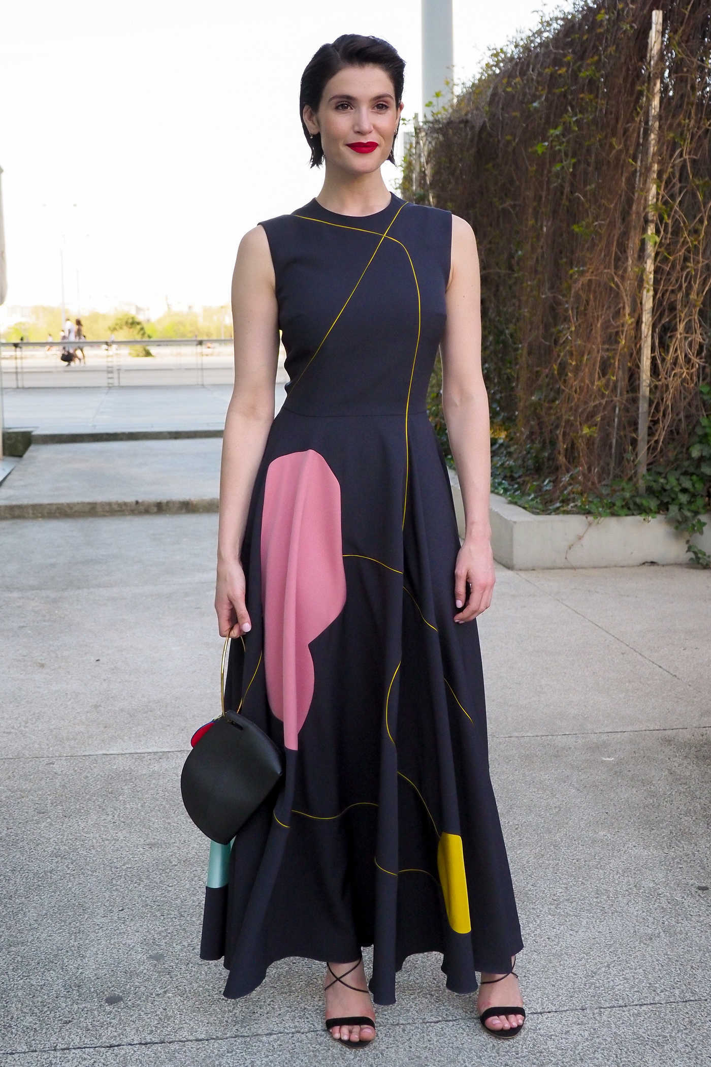 Gemma Arterton Attends the Une Femme Heureuse Premiere at Cinema MK2 Bibliotheque in Paris 04/19/2018