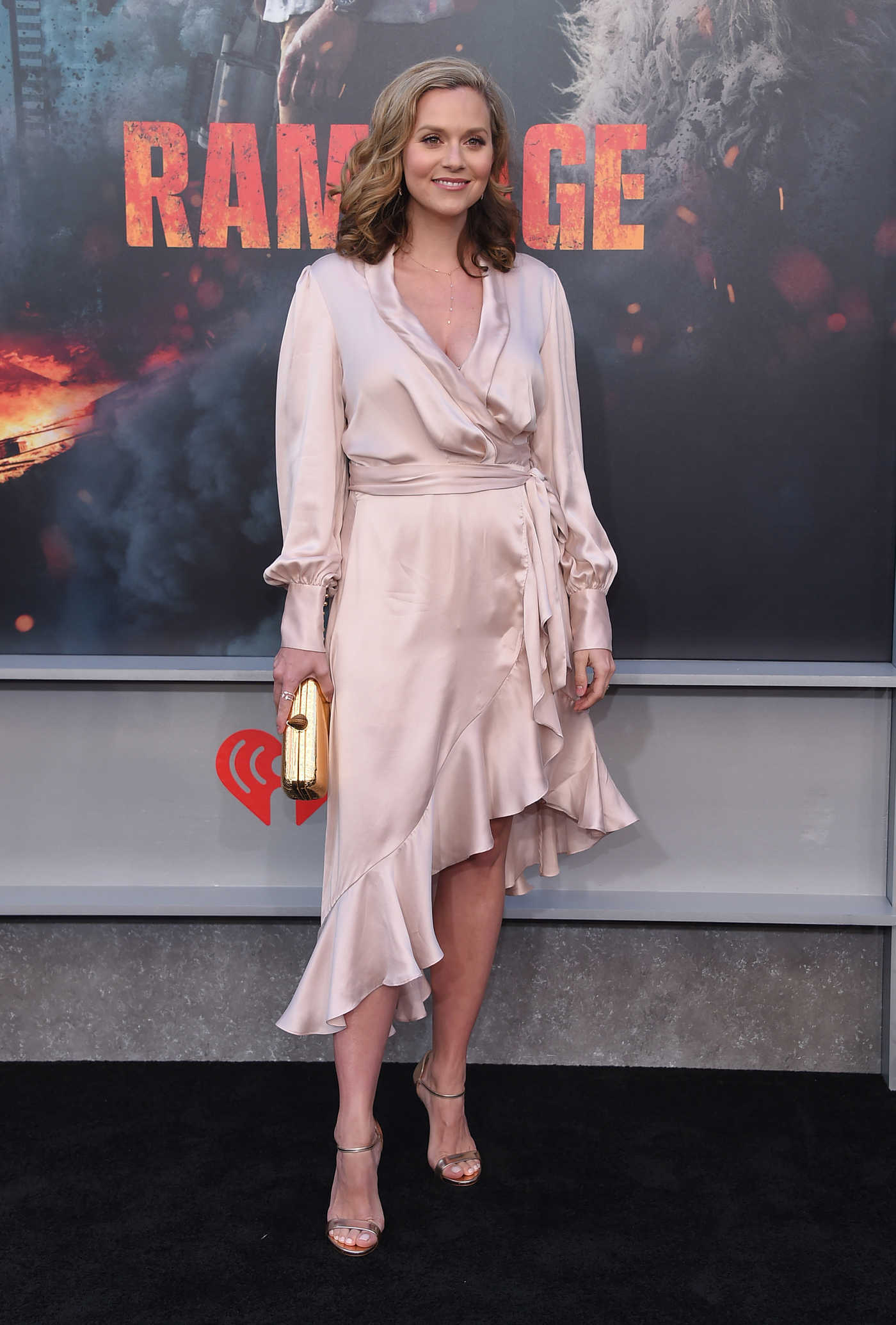 Hilarie Burton at the Rampage Premiere in Los Angeles 04/04/2018