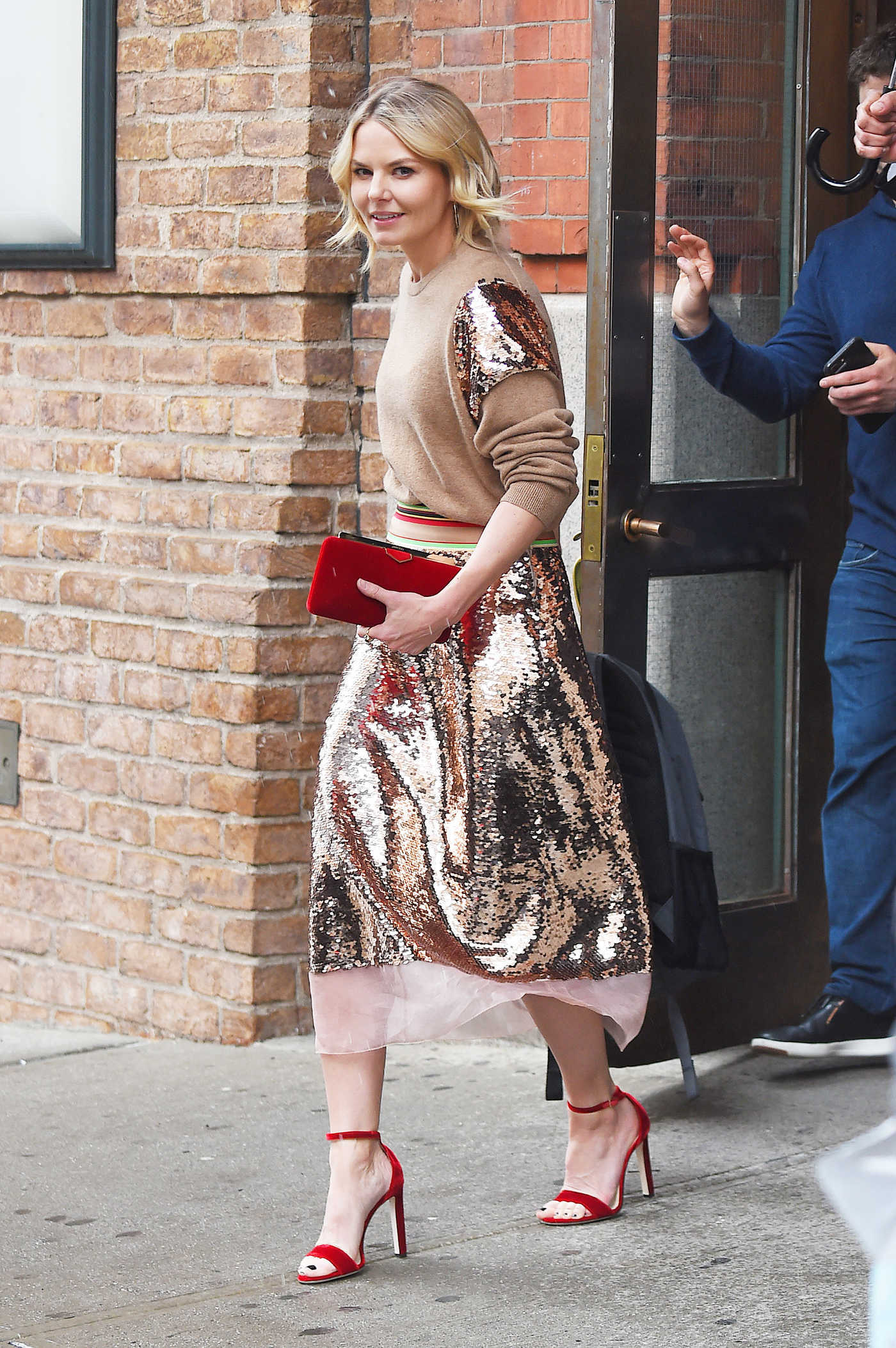 Jennifer Morrison Was Seen Out in Tribeca, NYC 04/19/2018