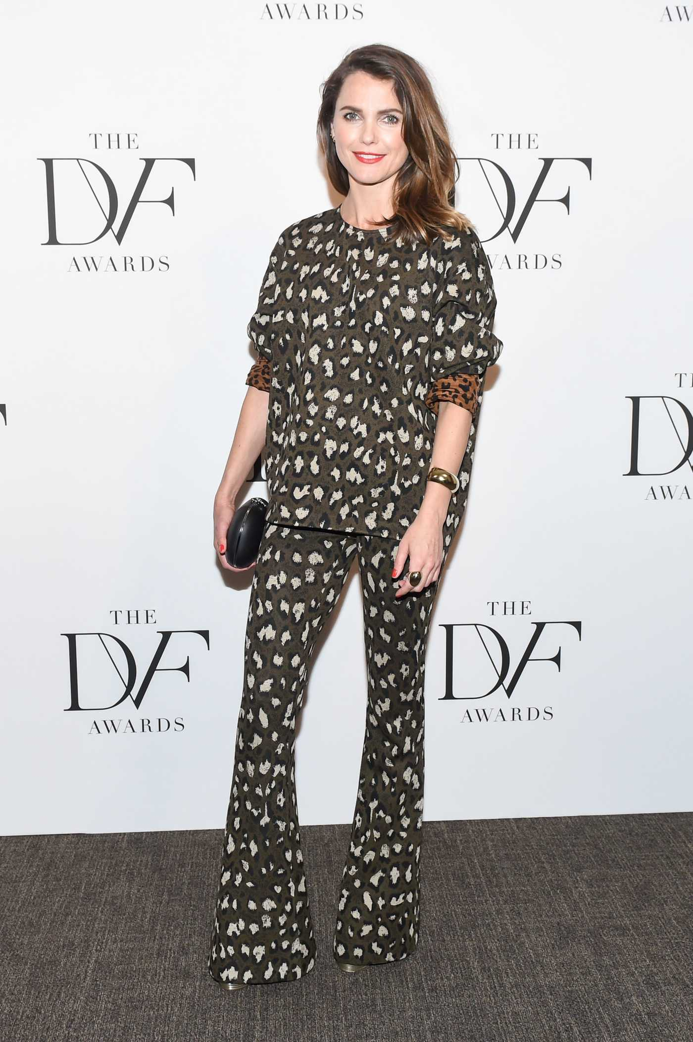 Keri Russell at the 9th Annual DVF Awards in New York 04/13/2018