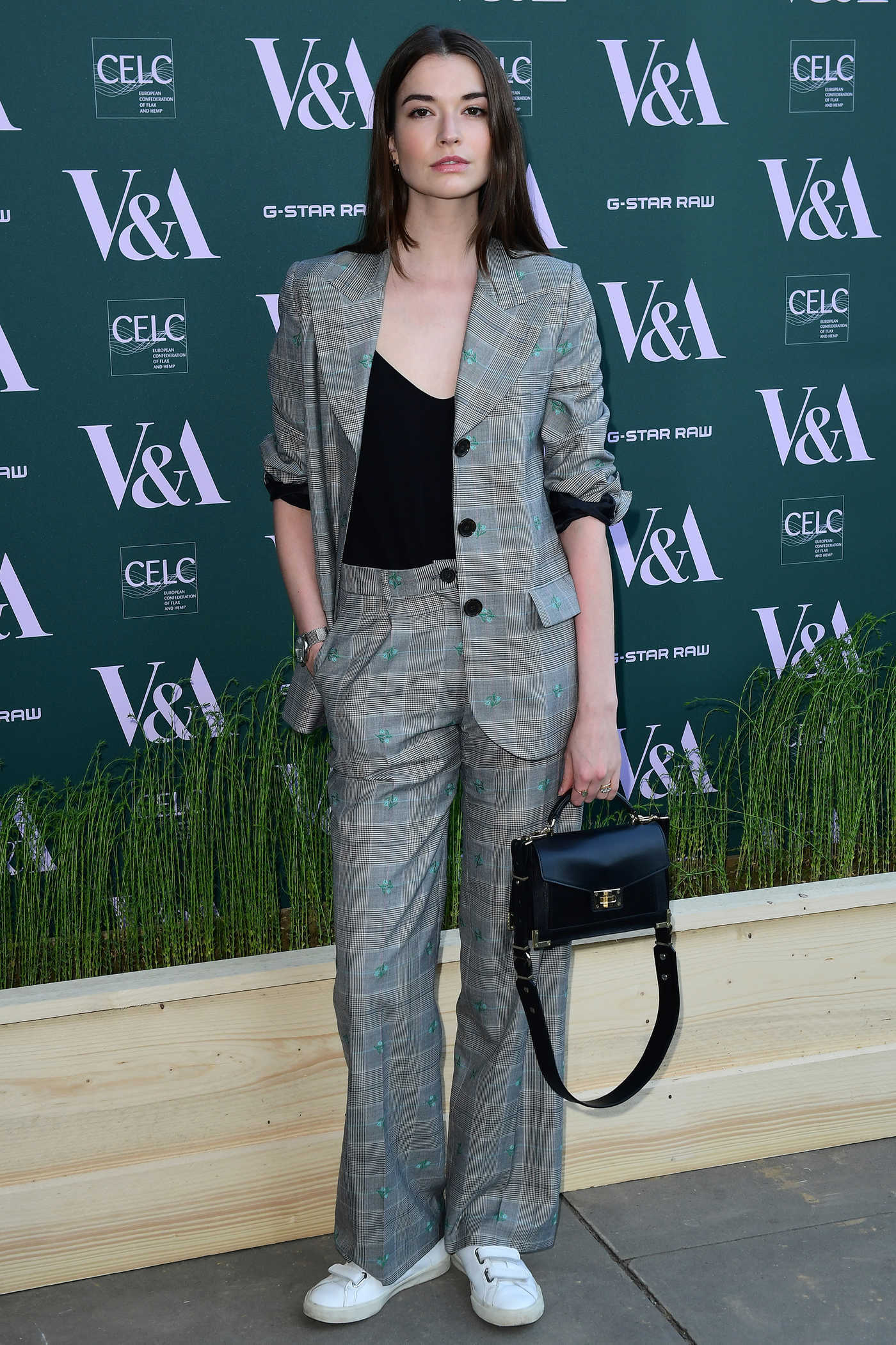 Margaret Clunie at the Fashioned for Nature Exhibition VIP Preview in London 04/18/2018