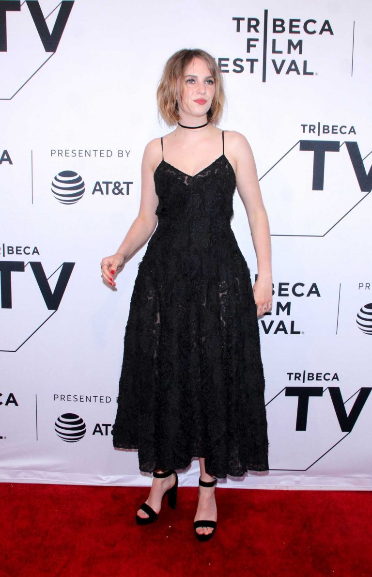 Maya Hawke at the Little Women Screening During the Tribeca Film Festival in New York City 04/27/2018-1