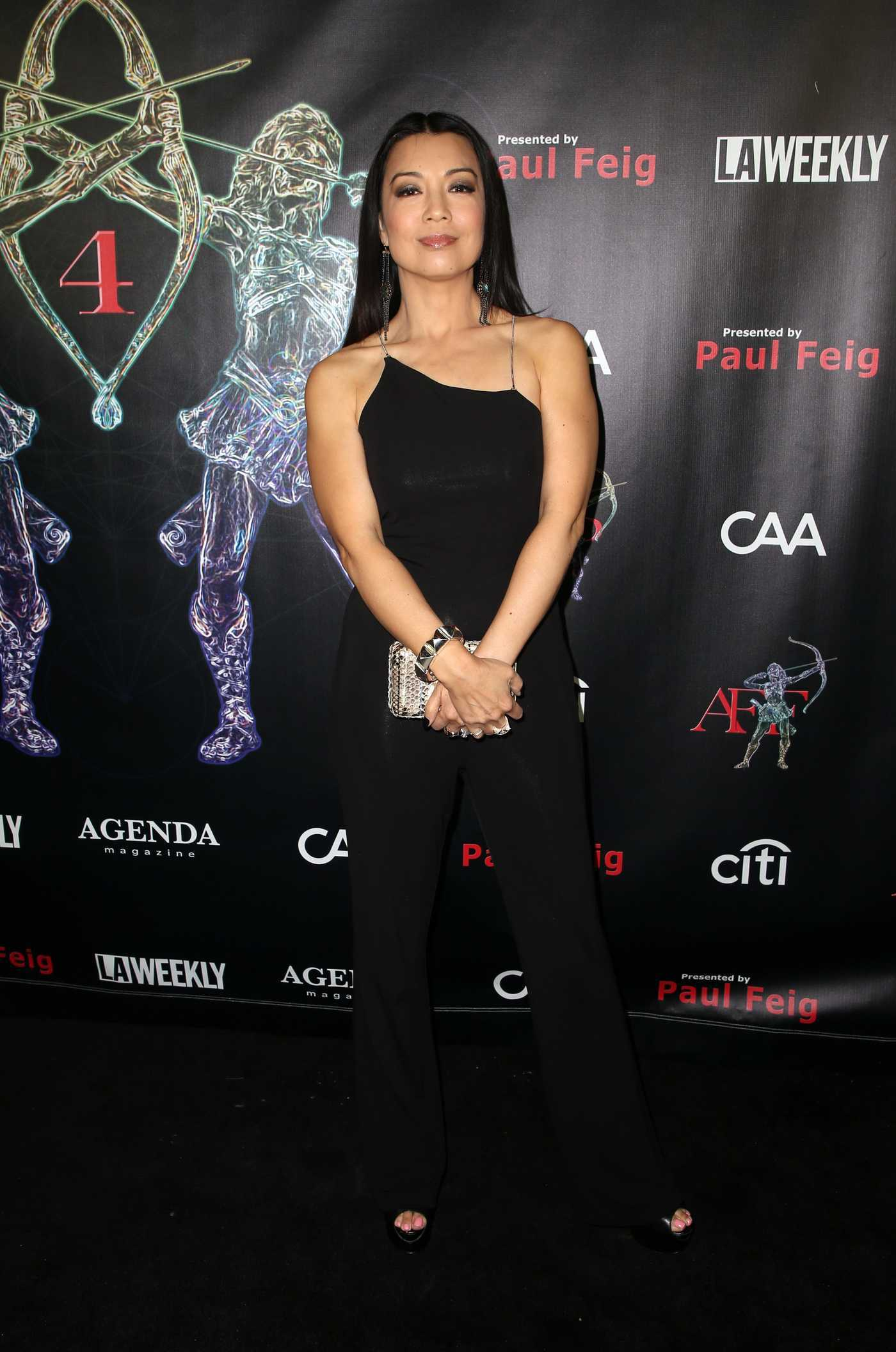 Ming-Na Wen at the 4th Annual Artemis Women in Action Festival in Beverly Hills 04/26/2018