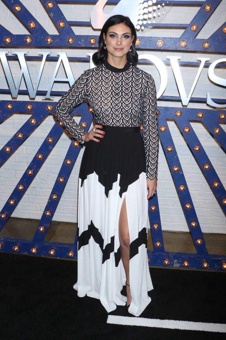 Morena Baccarin Arrives at the Swarovski Times Square Store Party in New York 04/12/2018-1