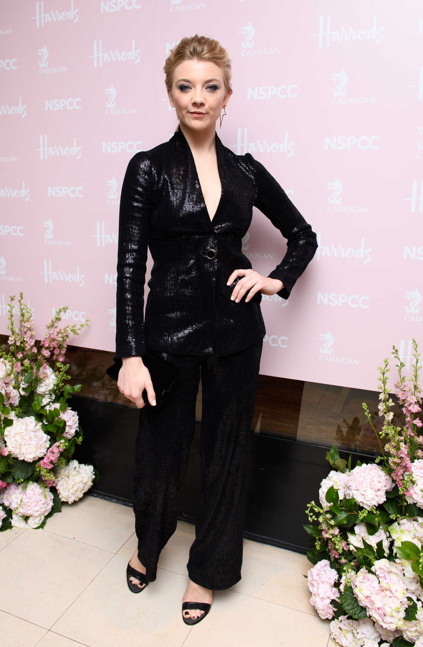 Natalie Dormer at the Fashion Retold for NSPCC at Fashion Retold on Sloane Street in London 04/12/2018