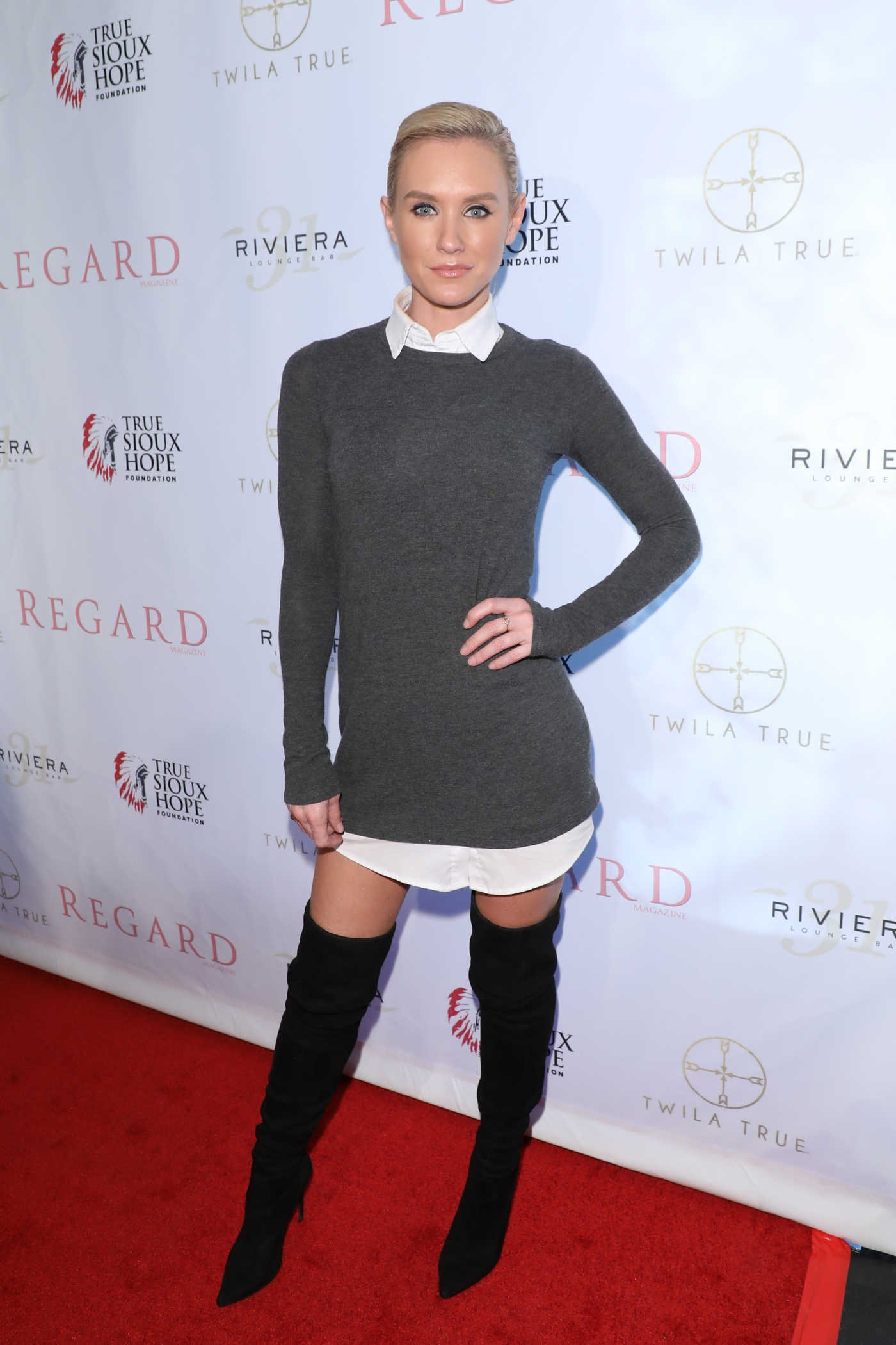 Nicky Whelan at the Regard Magazine Spring 2018 Cover Unveiling Party in West Hollywood 04/03/2018