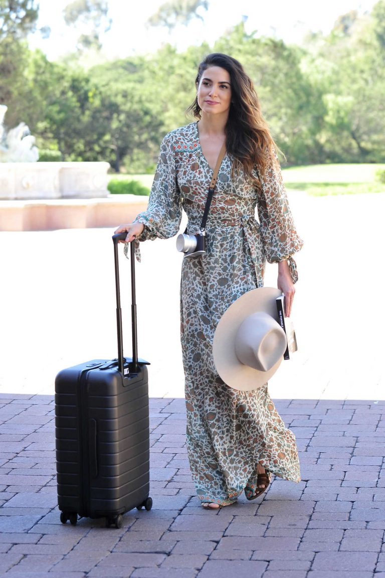 Nikki Reed Arrives at Fairmont Grand Del Mar Hotel in San Diego 04/01/2018-1