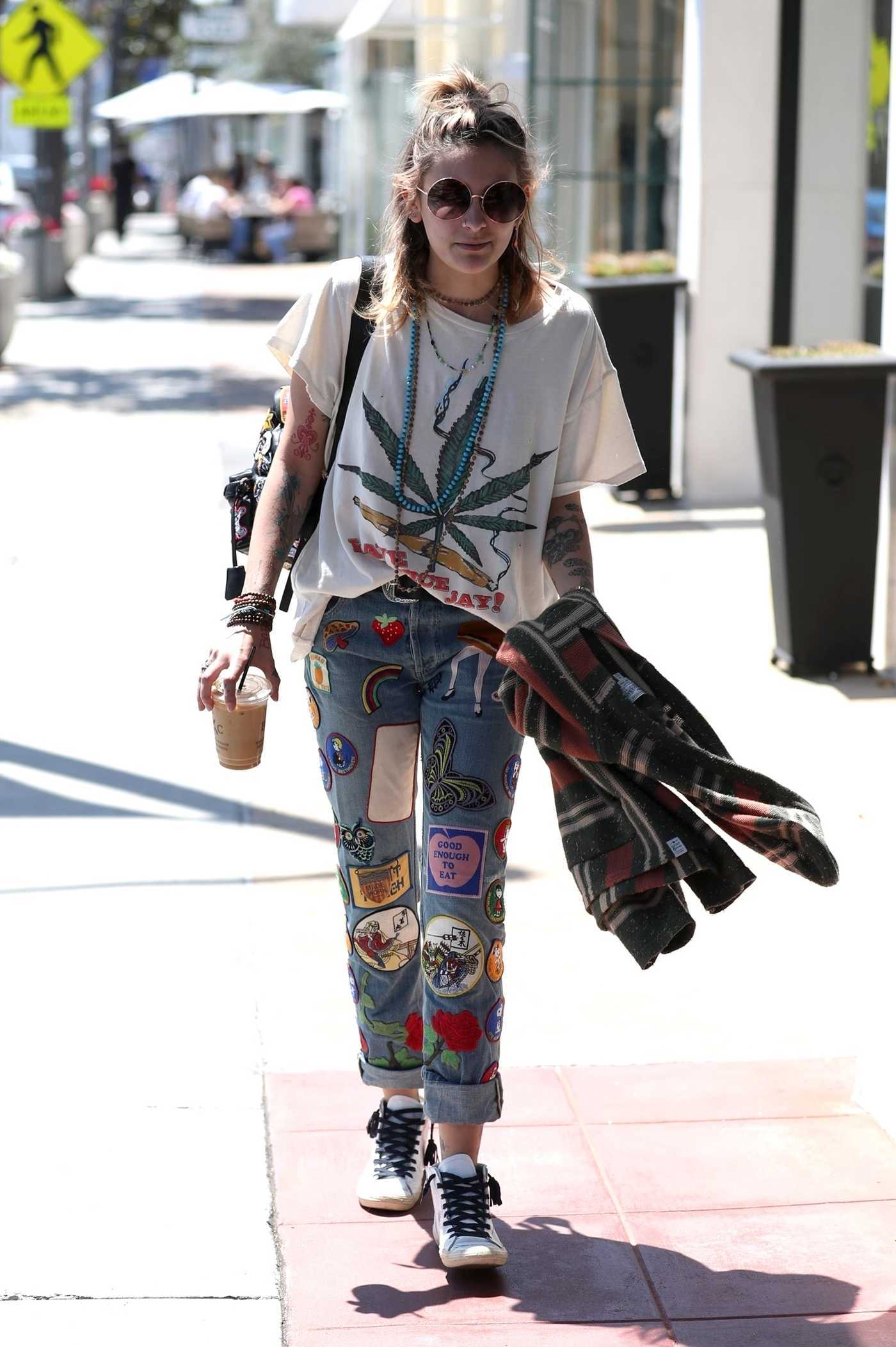 Paris Jackson Was Spotted Out in Los Angeles 04/20/2018
