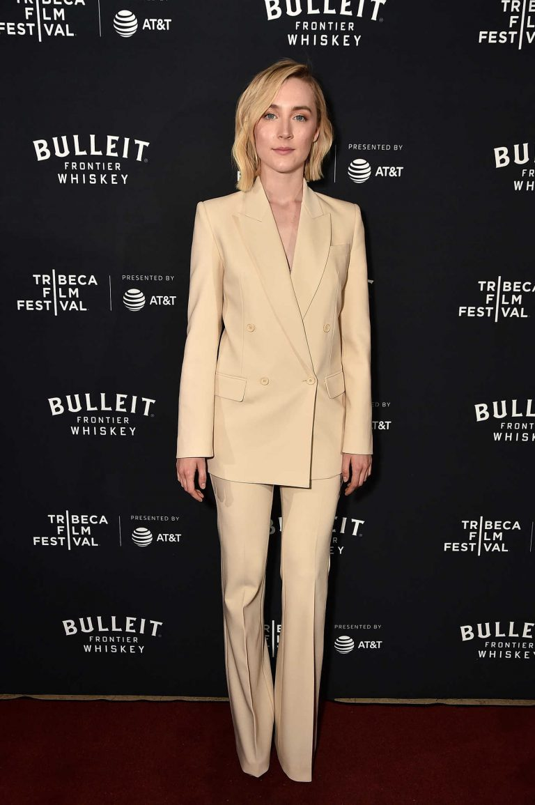 Saoirse Ronan at 2018 Tribeca Film Festival After-Party in NYC 04/21/2018-1