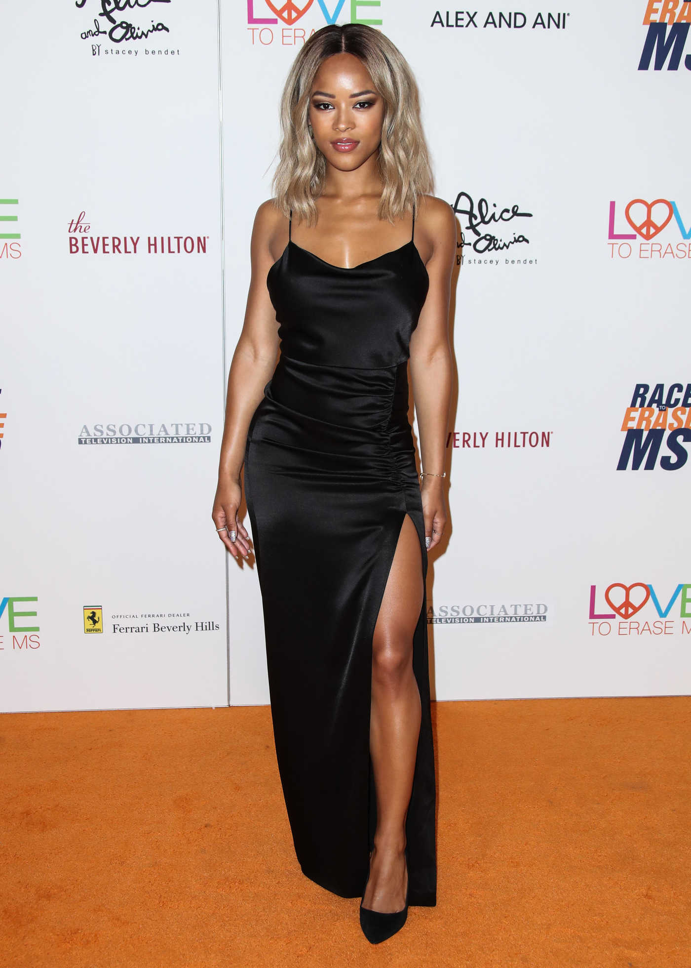 Serayah McNeill at the 25th Annual Race To Erase MS Gala in Beverly Hills 04/20/2018