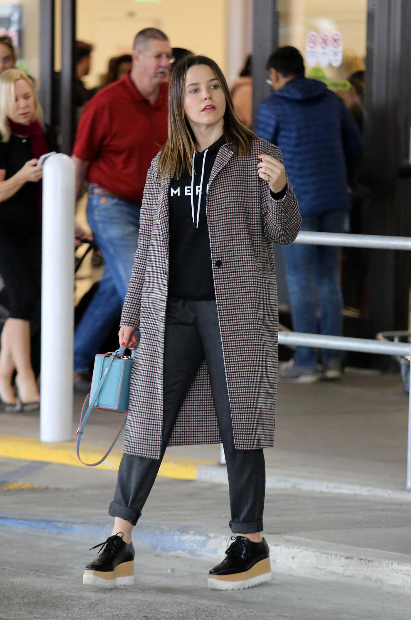 Sophia Bush Was Spotted at LAX Airport in LA 04/07/2018
