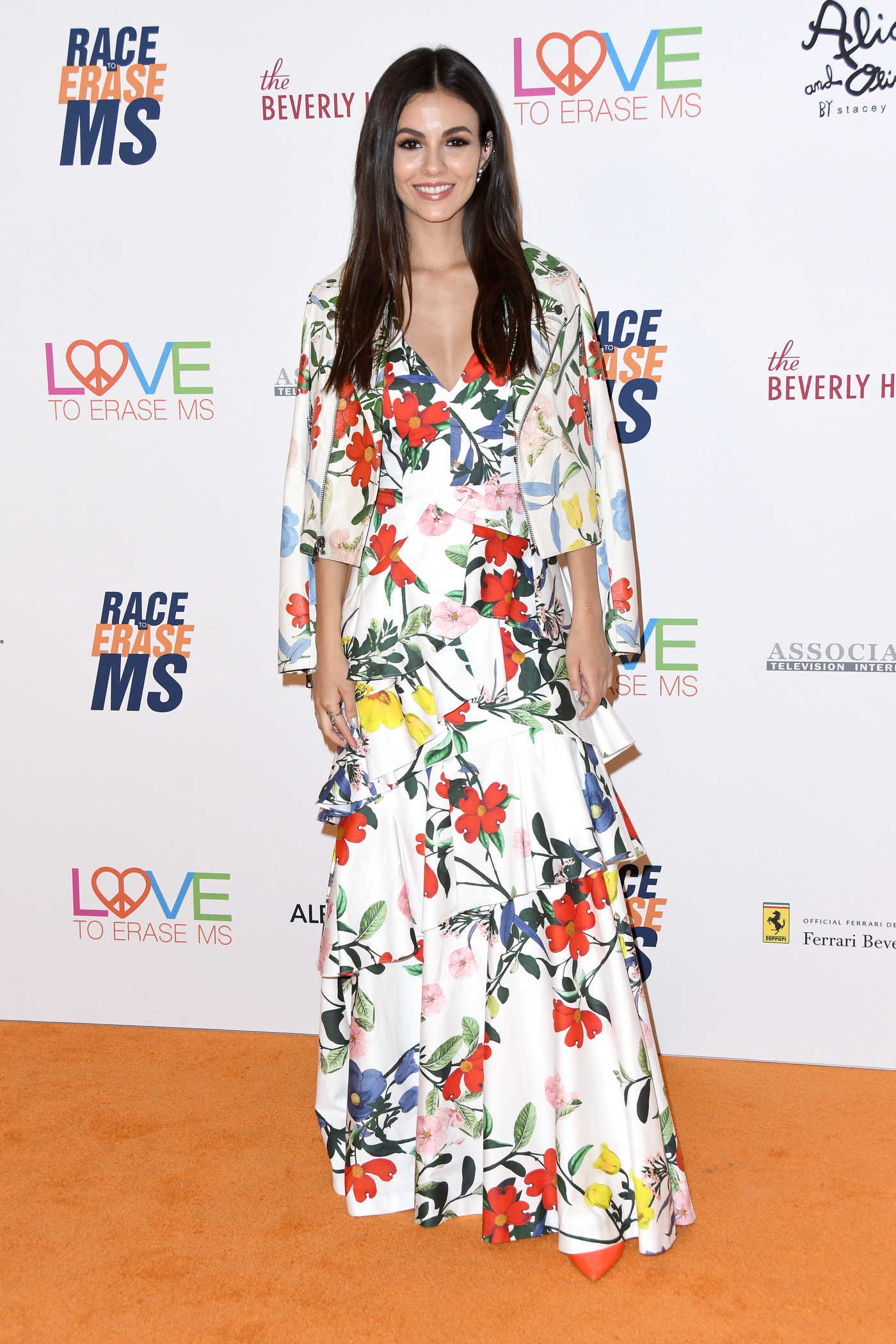 Victoria Justice at the 25th Annual Race To Erase MS Gala in Beverly Hills 04/20/2018