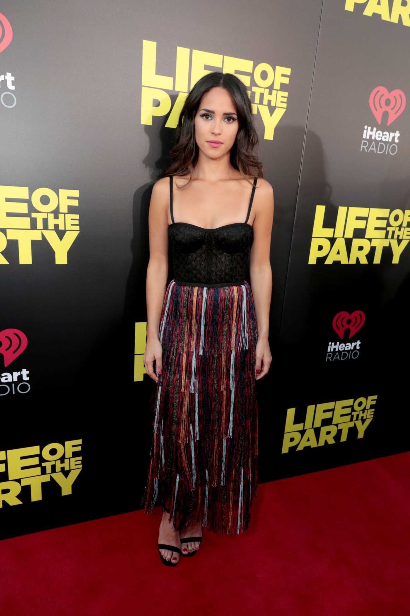 Adria Arjona at the Life of the Party World Premiere in Auburn 04/30/2018