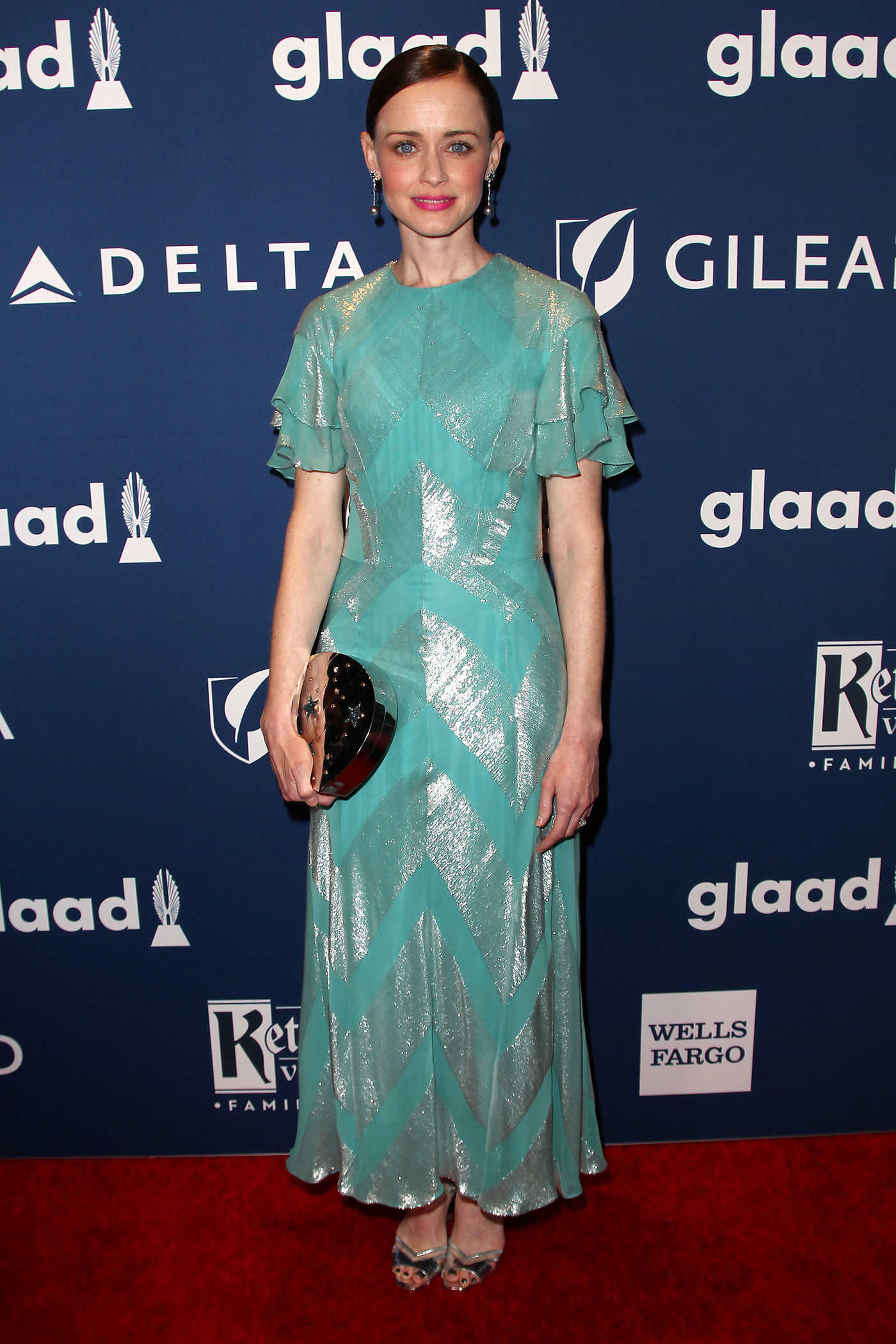 Alexis Bledel at the 29th Annual GLAAD Media Awards in New York City 05/05/2018