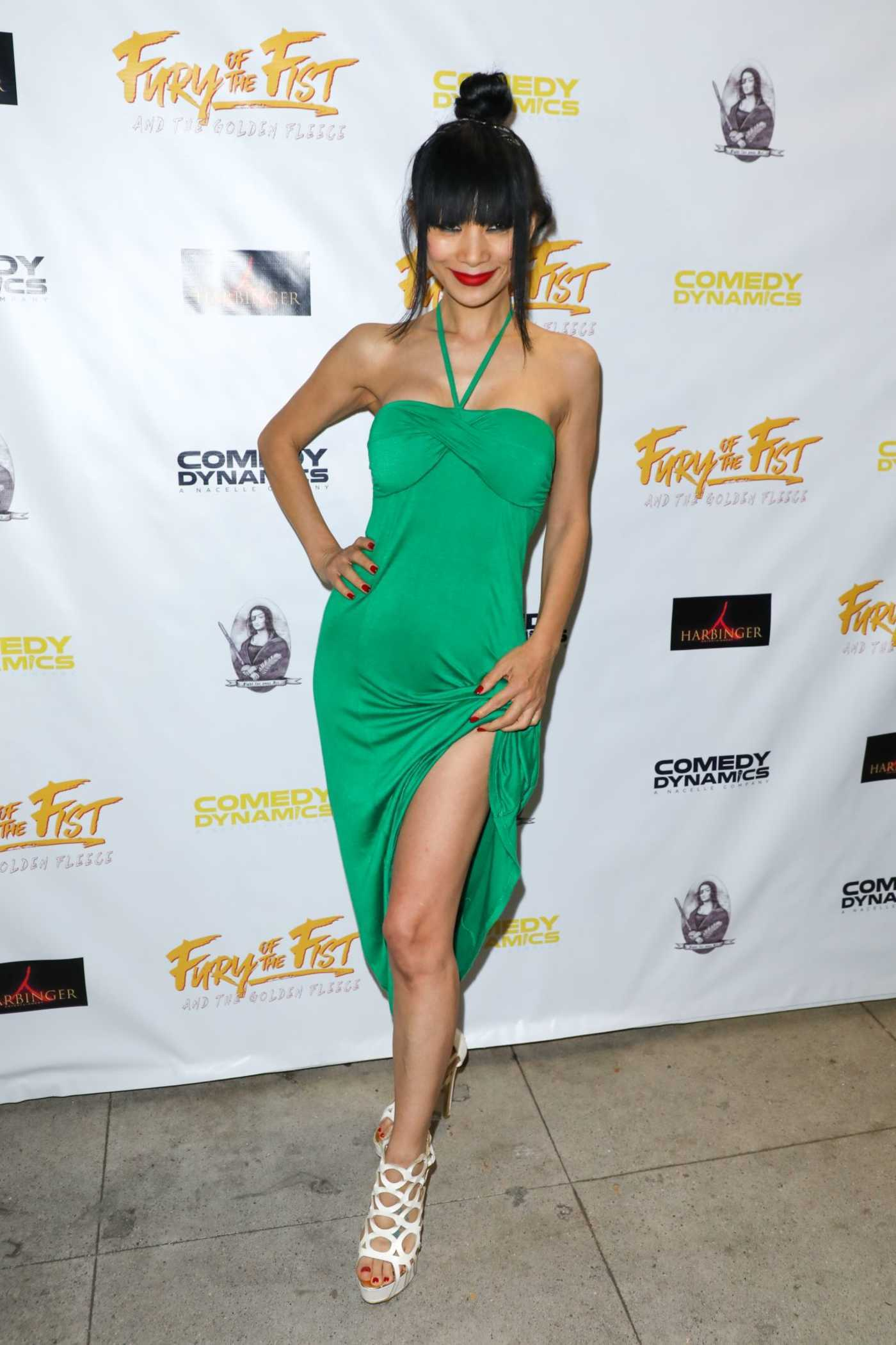 Bai Ling at the Fury of the Fist and the Golden Fleece Premiere in Beverly Hills 05/24/2018