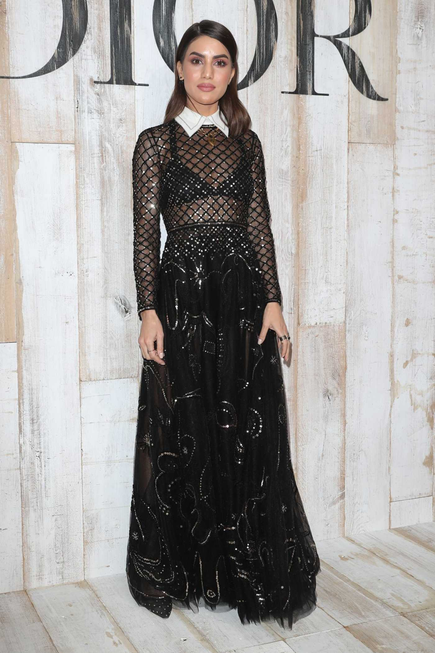 Camila Coelho at 2019 Dior Cruise Show After Party at the Chateau de Chantilly in Chantilly 05/25/2018