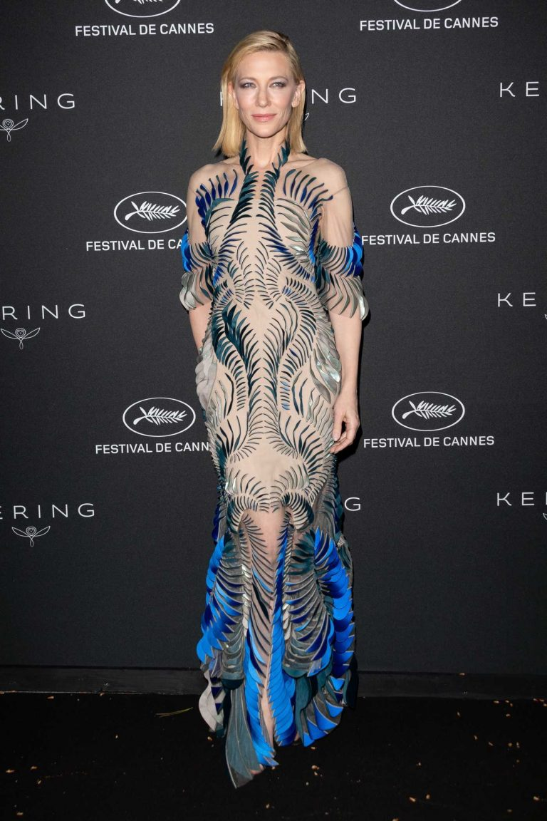 Cate Blanchett at the Kering Women in Motion Awards During the 71th Cannes Film Festival 05/14/2018-1