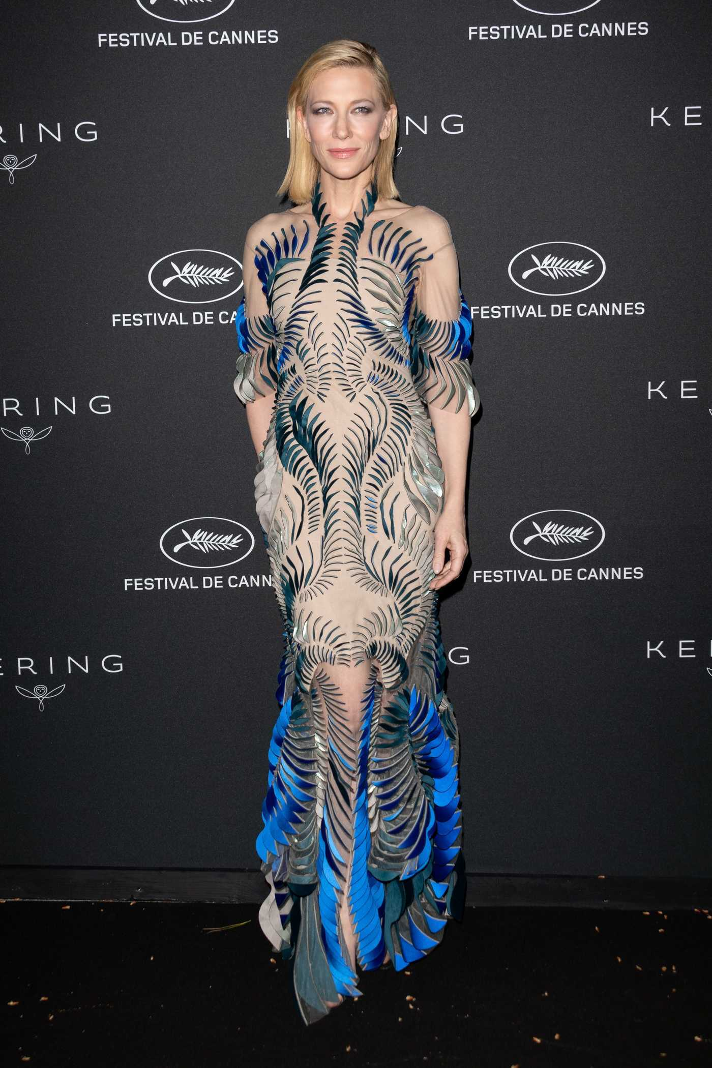 Cate Blanchett at the Kering Women in Motion Awards During the 71th Cannes Film Festival 05/14/2018