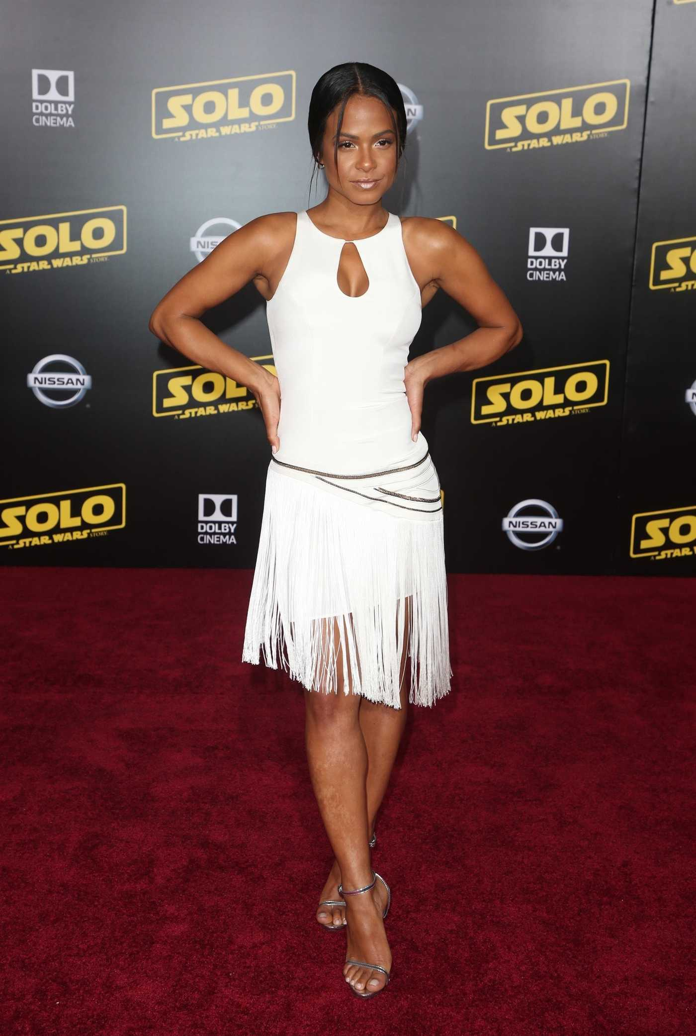 Christina Milian at the Solo: A Star Wars Story Premiere in Los Angeles 05/10/2018