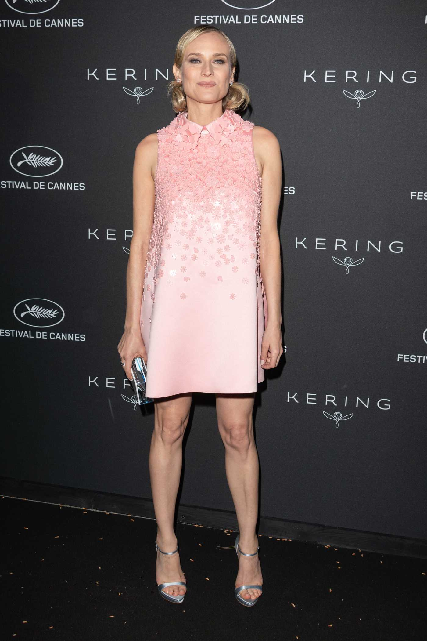 Diane Kruger at the Kering Women in Motion Awards During the 71th Cannes Film Festival 05/14/2018