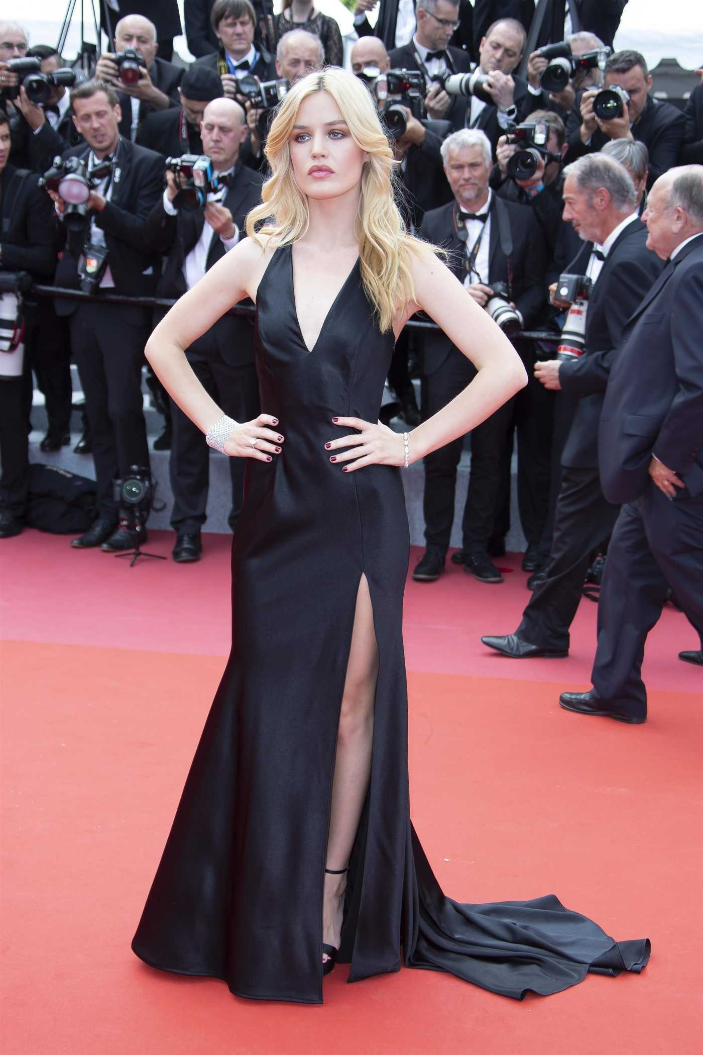 Georgia May Jagger at Everybody Knows Premiere During the 71st Cannes Film Festival 05/08/2018