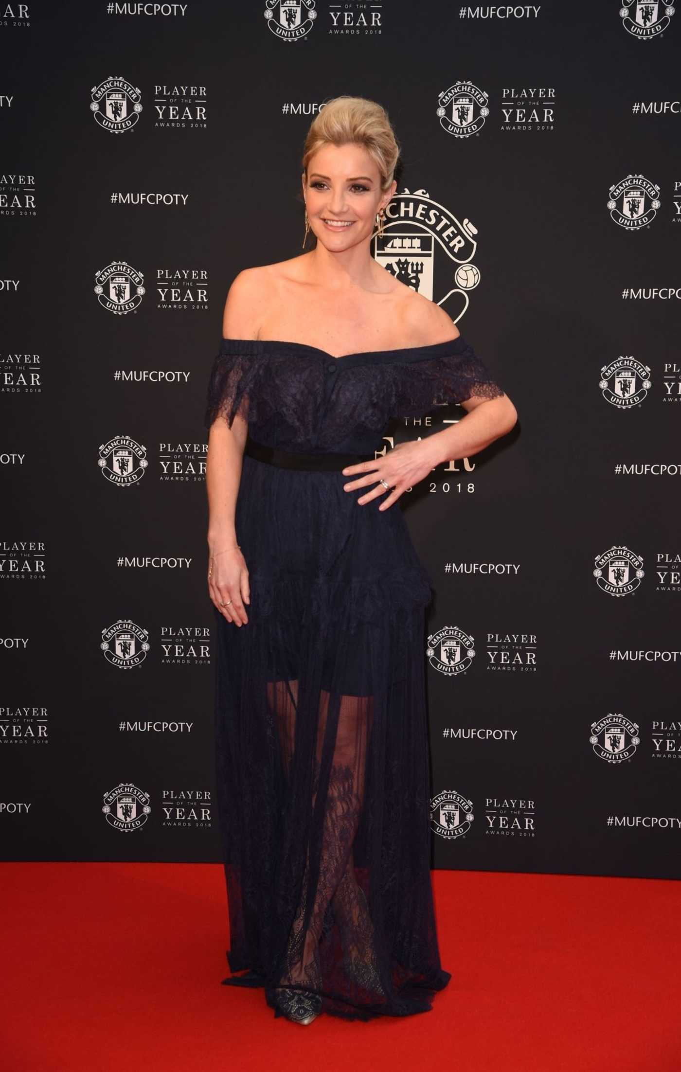 Helen Skelton at 2018 Manchester United Player of the Year Awards 05/01/2018