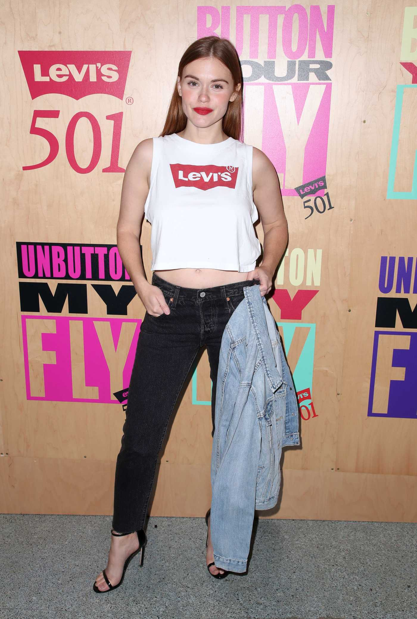 Holland Roden at the Levi's 501 Day Celebration Party in Los Angeles 05/16/2018