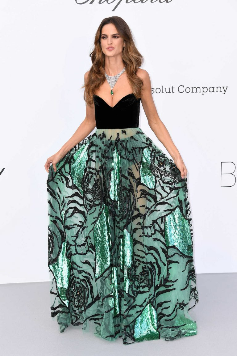 Izabel Goulart at amfAR's 25th Cinema Against AIDS Gala During the 71st Cannes Film Festival in Cannes 05/17/2018-1