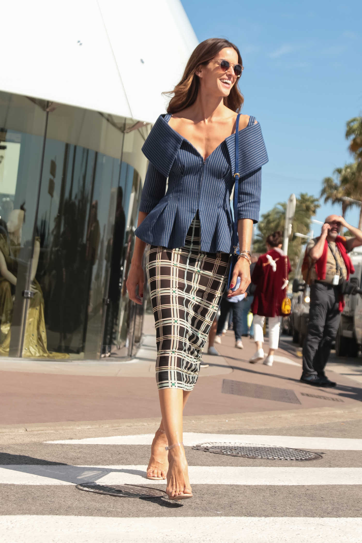 Izabel Goulart Was Seen Out in Cannes During the 71st Cannes Film Festival 05/15/2018
