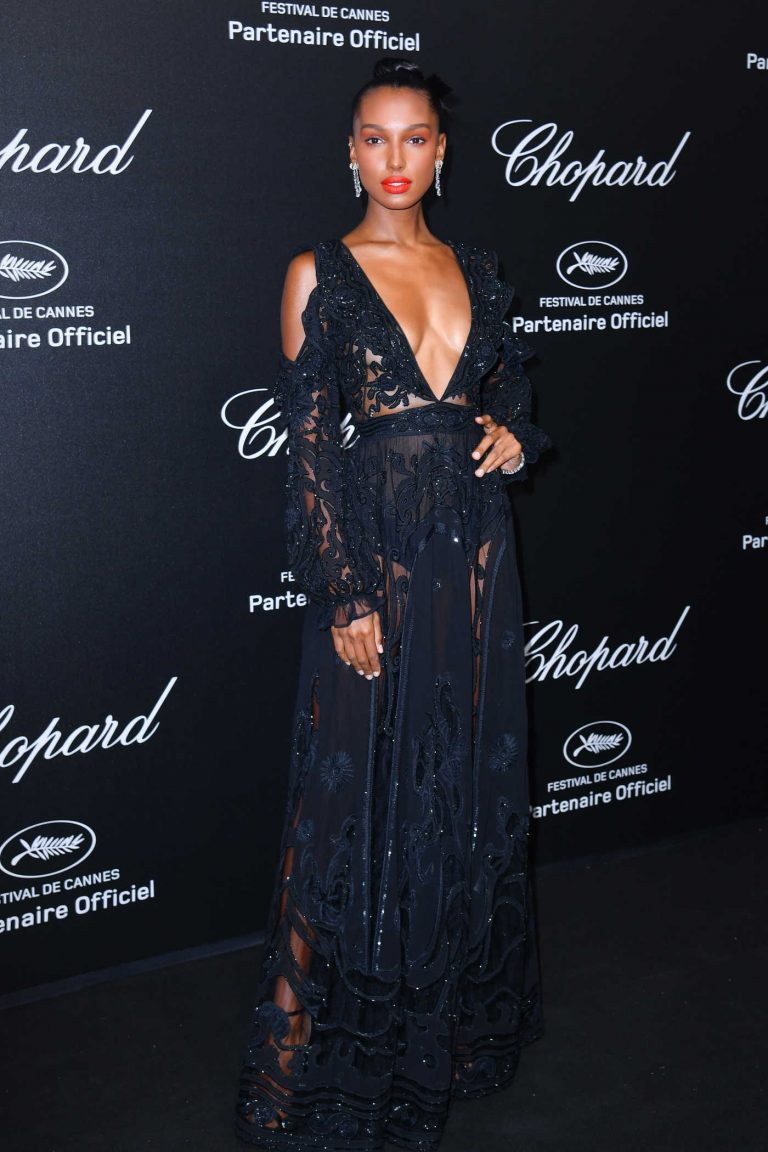 Jasmine Tookes at the Secret Chopard Party During the 71st Annual Cannes Film Festival 05/11/2018-1