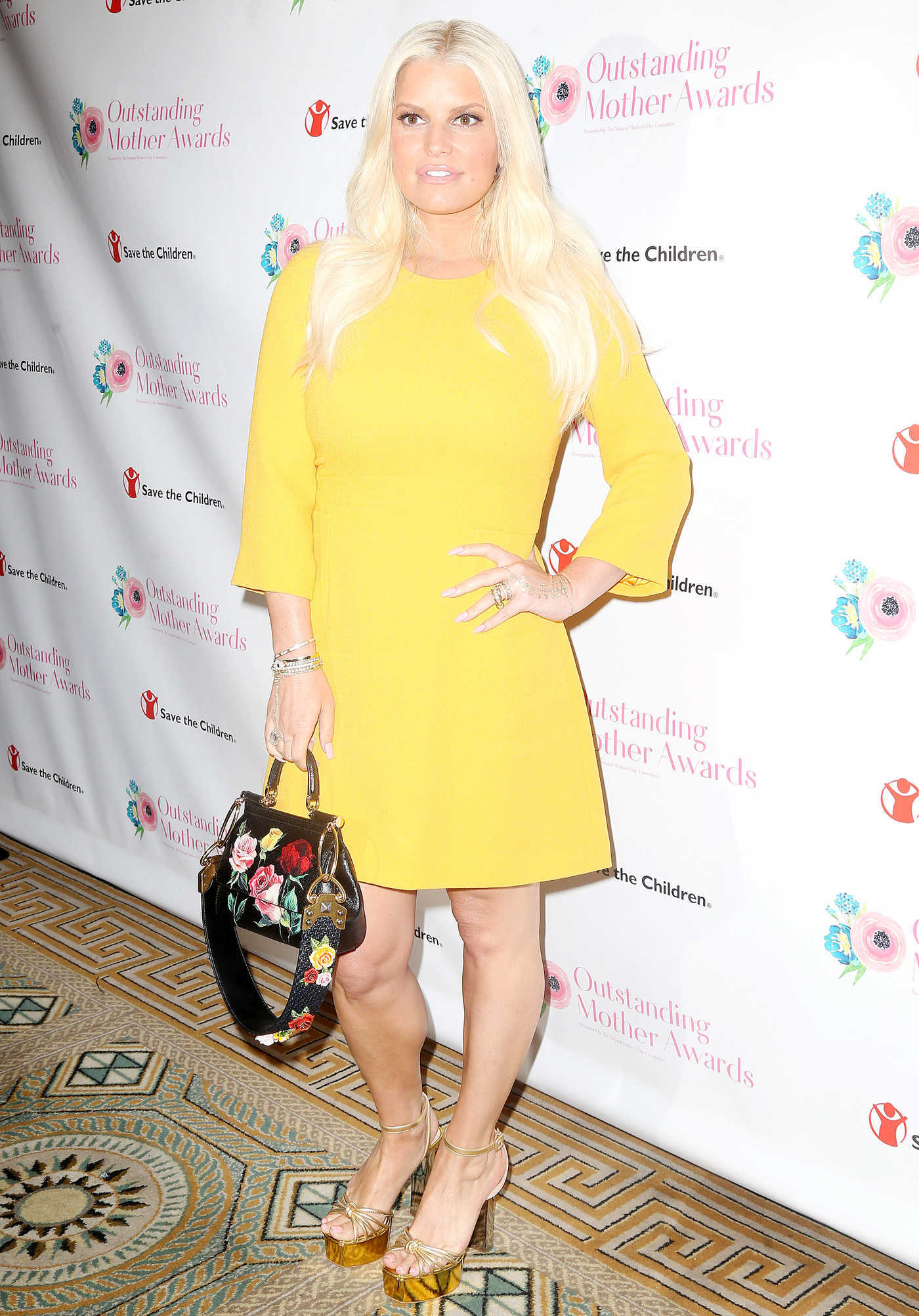 Jessica Simpson at 2018 Outstanding Mother Awards in New York 05/11/2018